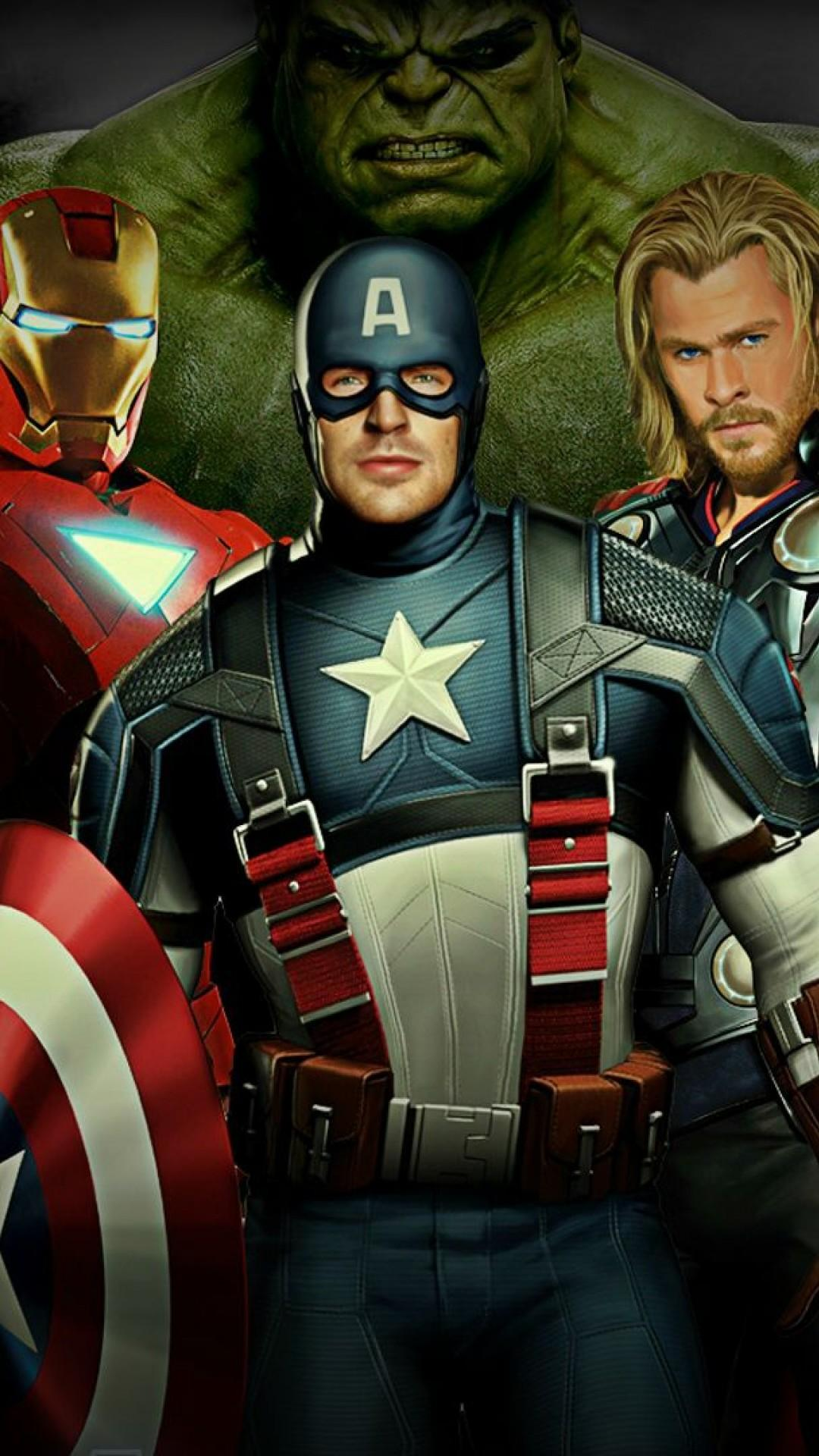 Avengers Full Hd Mobile Wallpapers - Wallpaper Cave