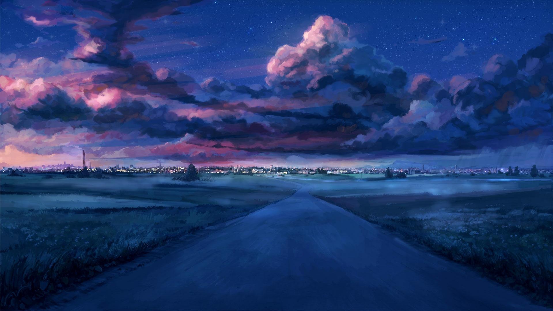 Landscape Scene Anime 4k Wallpapers - Wallpaper Cave