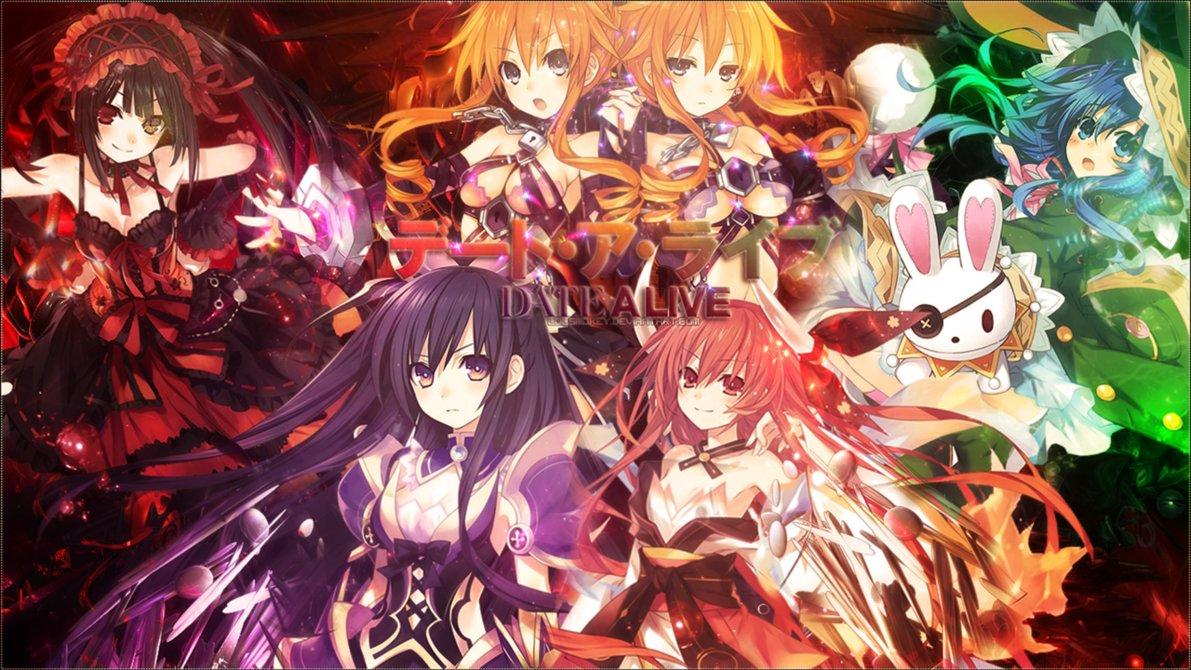 Anime Date A Live Wallpapers Wallpaper Cave