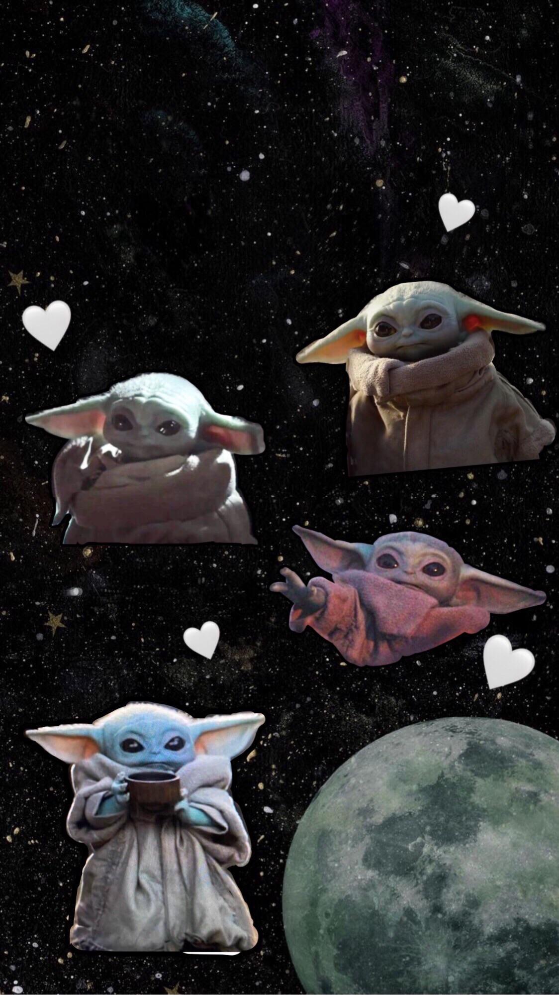 Baby Yoda Cute Wallpapers Wallpaper Cave