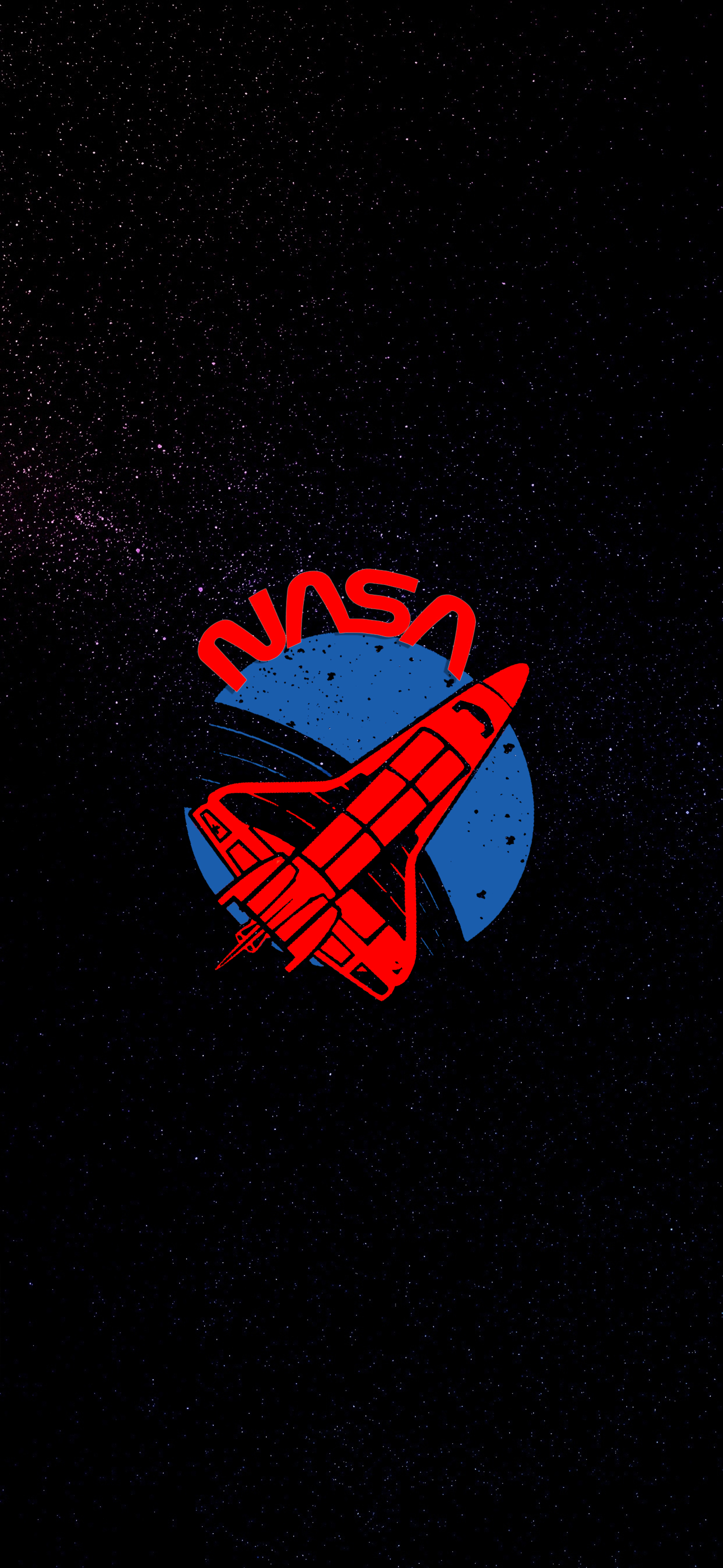 Nasa Logo IPhone X Wallpapers