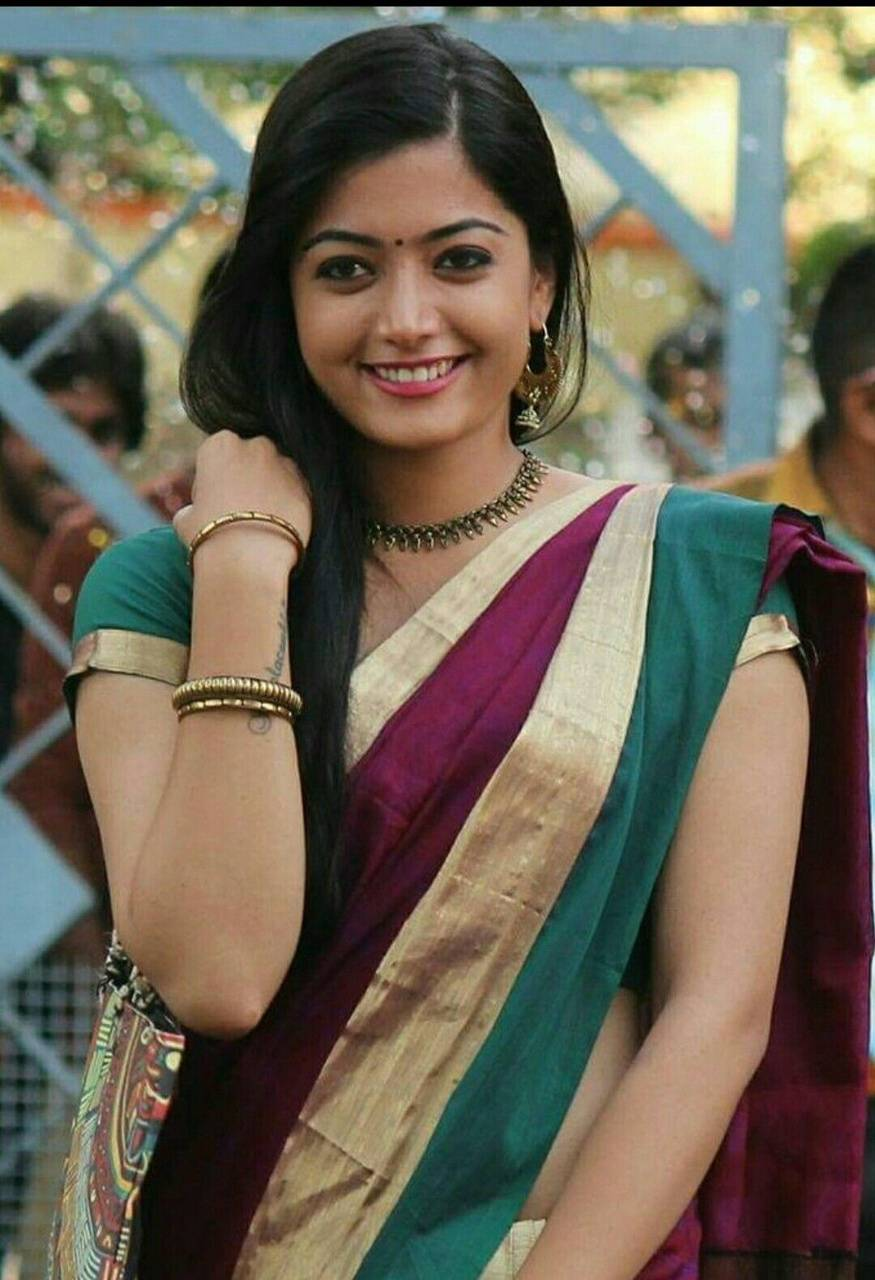 Rashmika mandanna wallpapers by sarushivaanjali