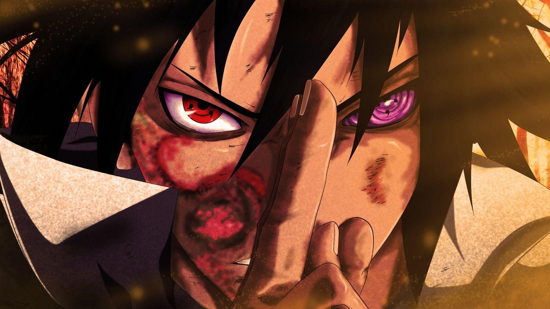 Aesthetic Naruto And Sasuke Wallpapers Wallpaper Cave