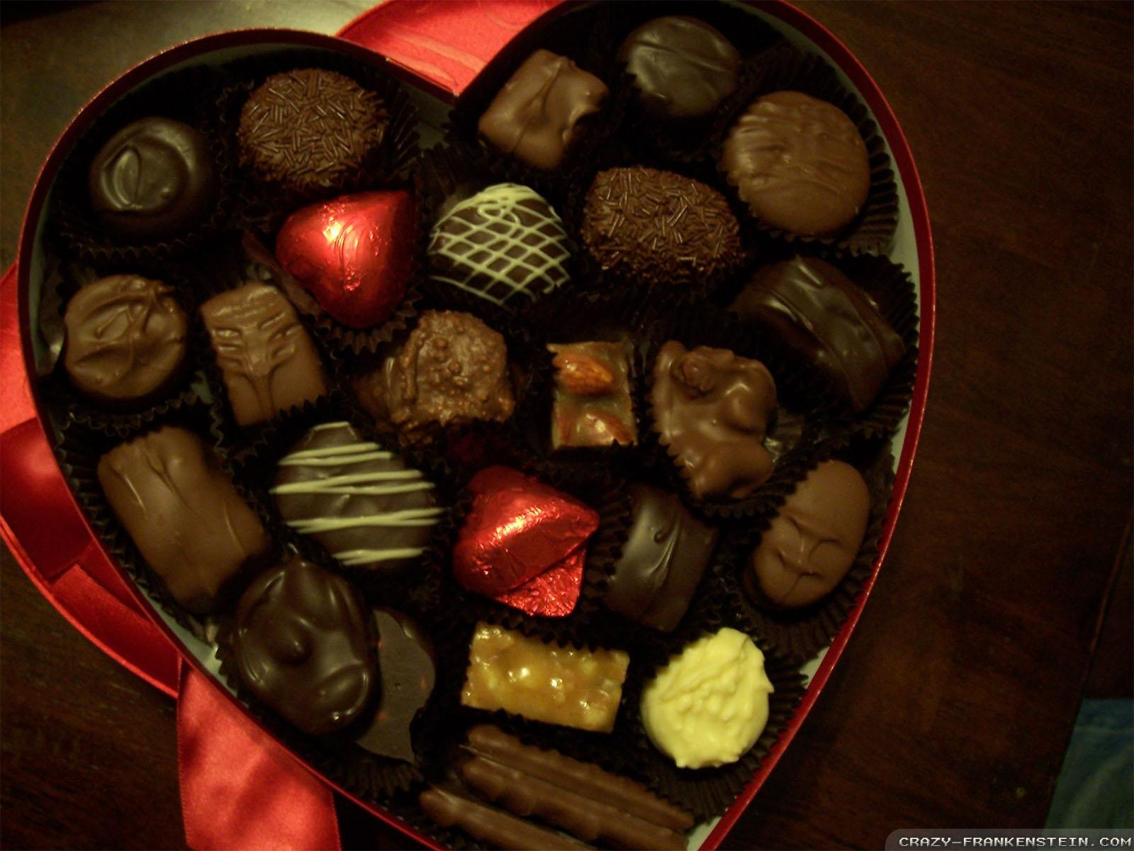 Valentine Chocolate Wallpapers Wallpaper Cave
