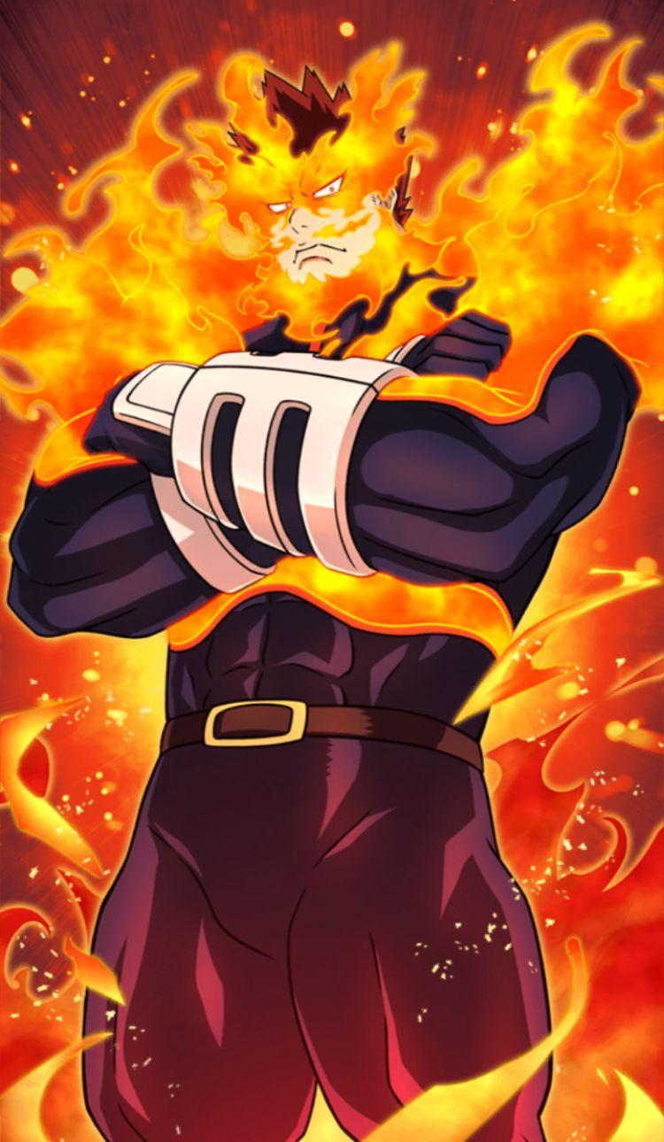 My Hero Academia Endeavour Android Wallpapers Wallpaper Cave