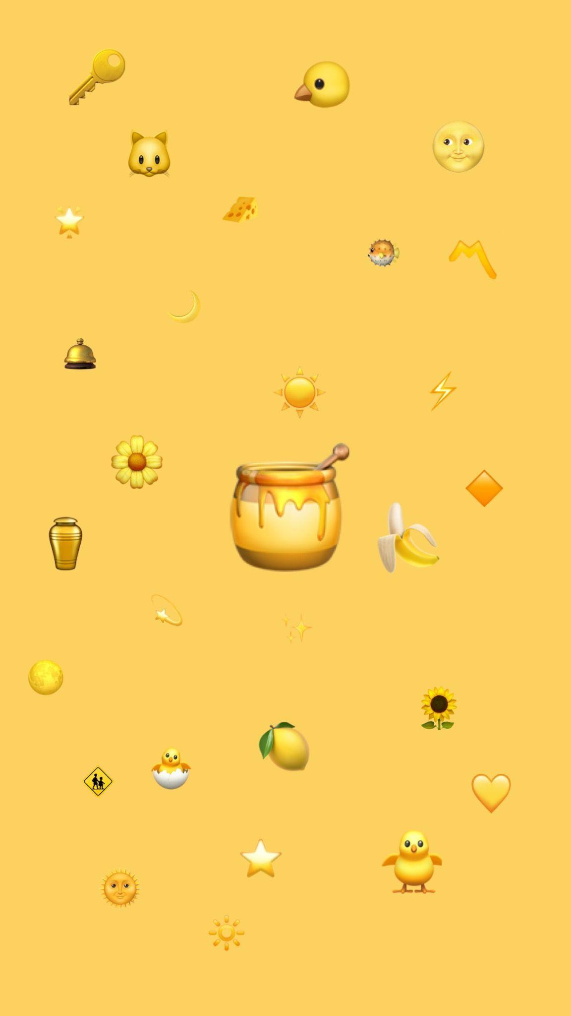 Cute Aesthetic Yellow Wallpapers - Wallpaper Cave