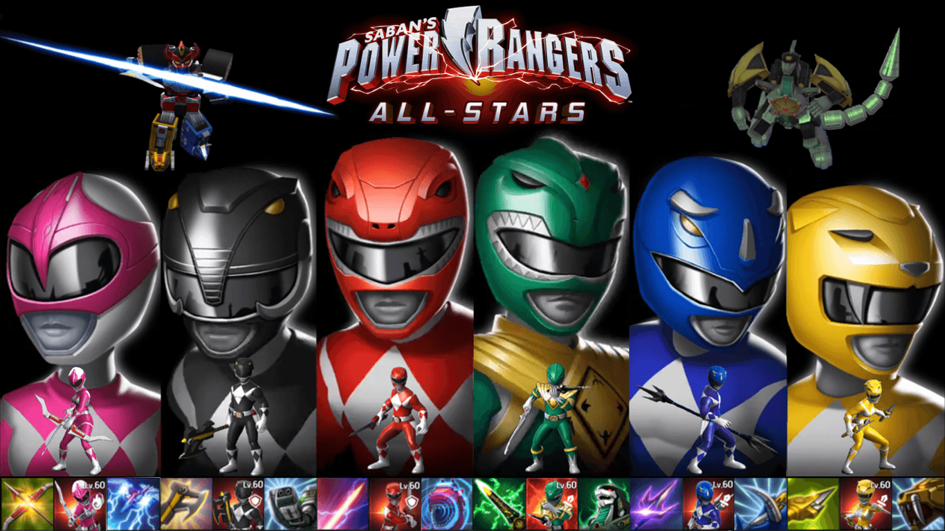 Power Rangers Zeo Wallpapers Wallpaper Cave