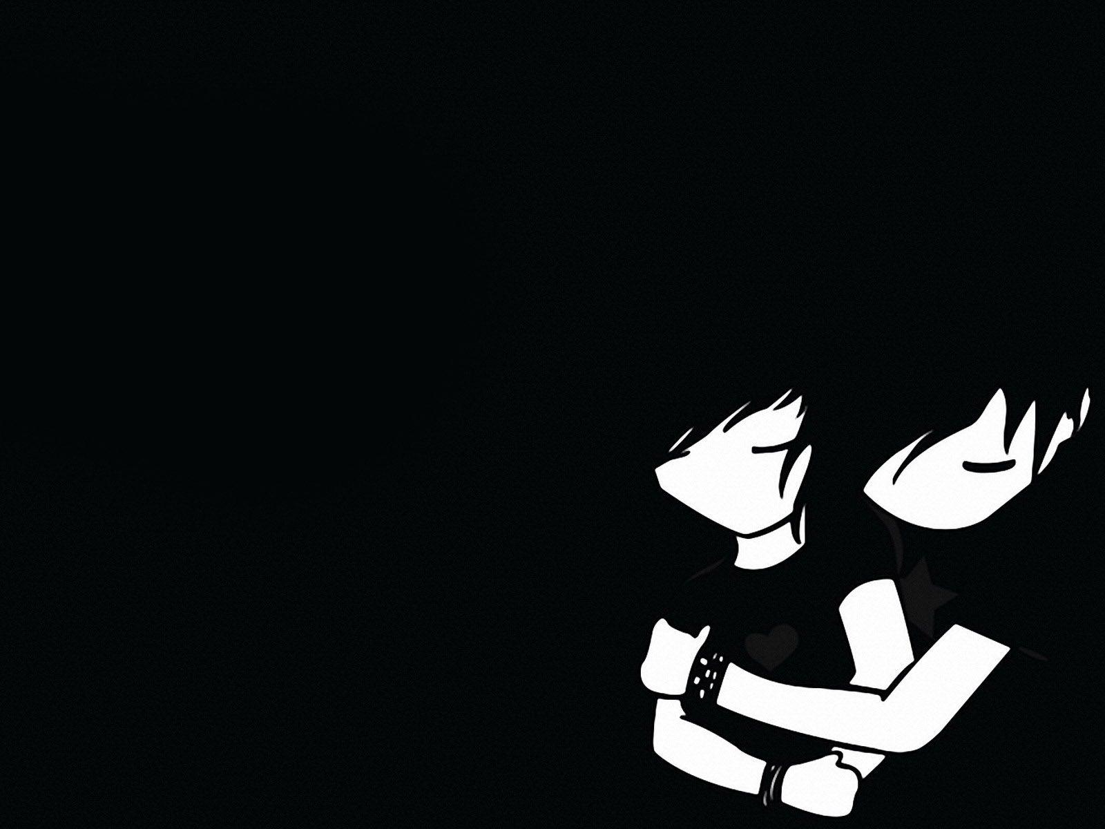 Anime Black And White Boy Wallpapers Wallpaper Cave