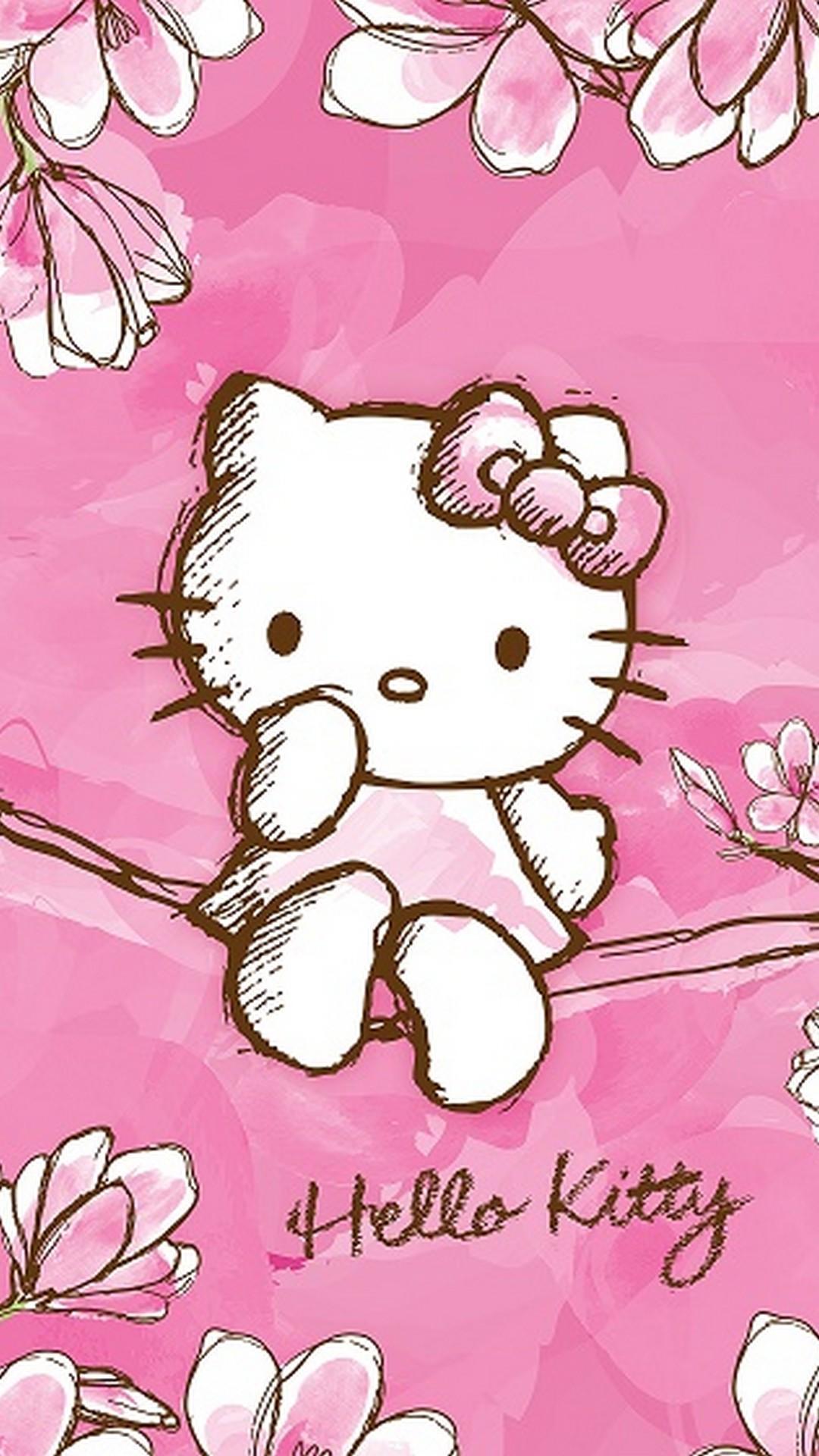 Gambar Hello Kitty Wallpapers Wallpaper Cave