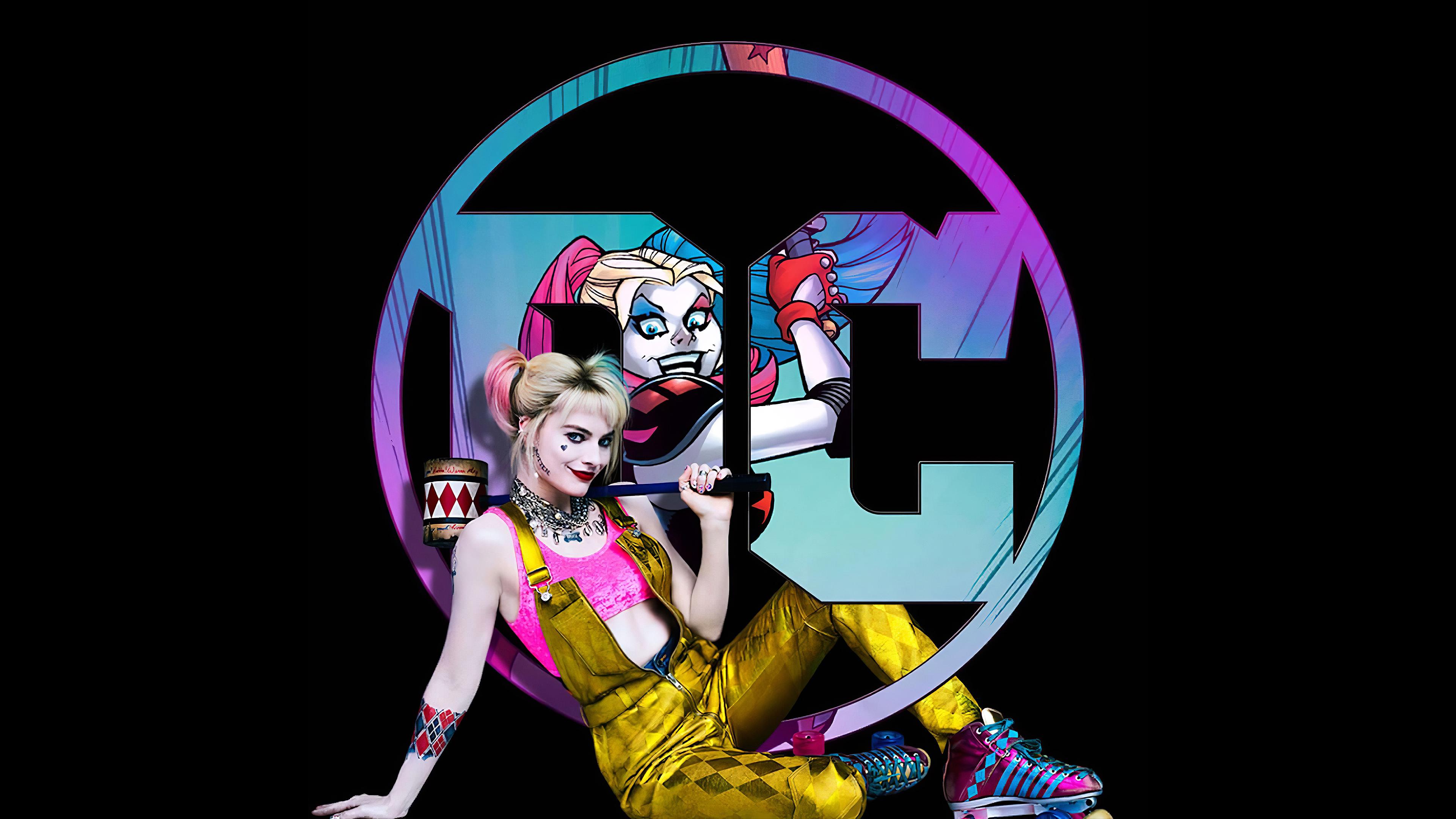 Harley Quinn Birds Of Prey Desktop Wallpapers Wallpaper Cave