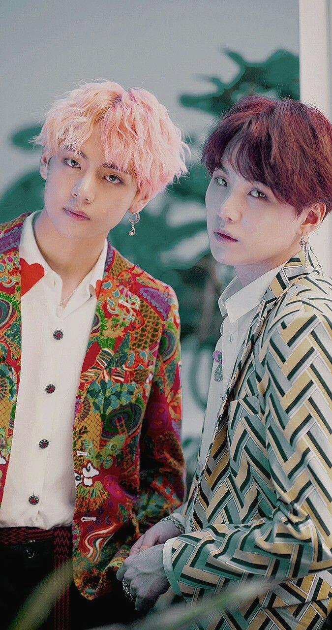 V And Jin BTS Wallpapers   Wallpaper Cave