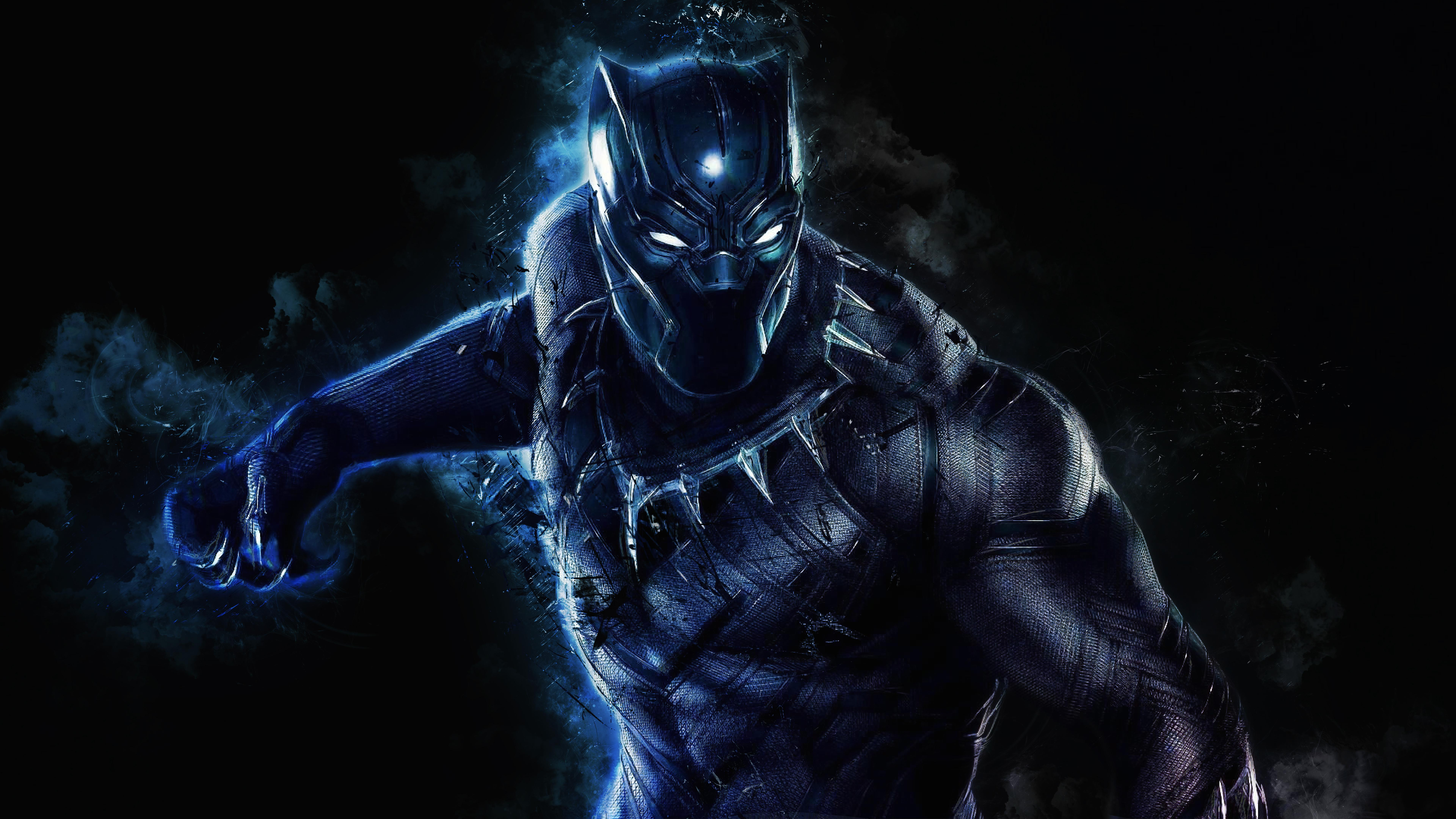 21+ Black Panther Dreamscape Wallpaper PNG