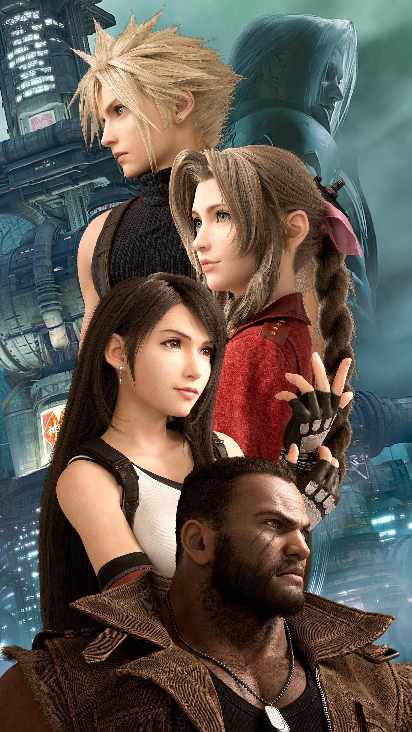 Final Fantasy Vii Remake Phone Wallpapers Wallpaper Cave