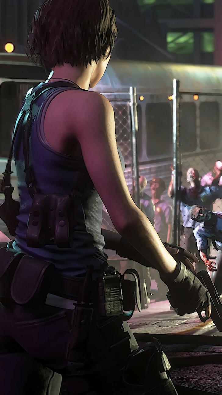 Resident Evil 3 Remake Wallpapers Wallpaper Cave