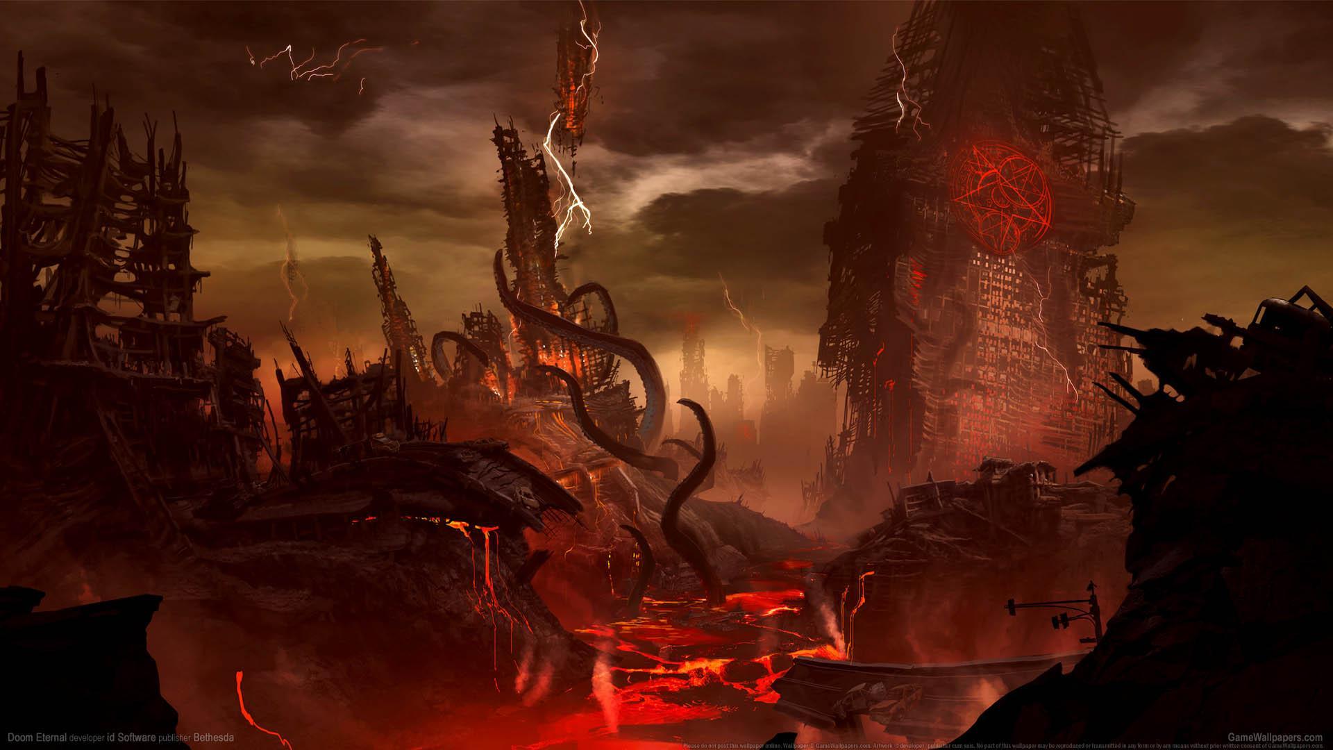 Doom Eternal Video Game Wallpapers Wallpaper Cave