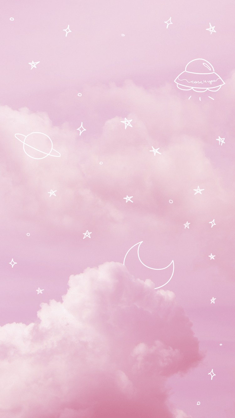 Wallpapers Pink Sky by Case4You ♥
