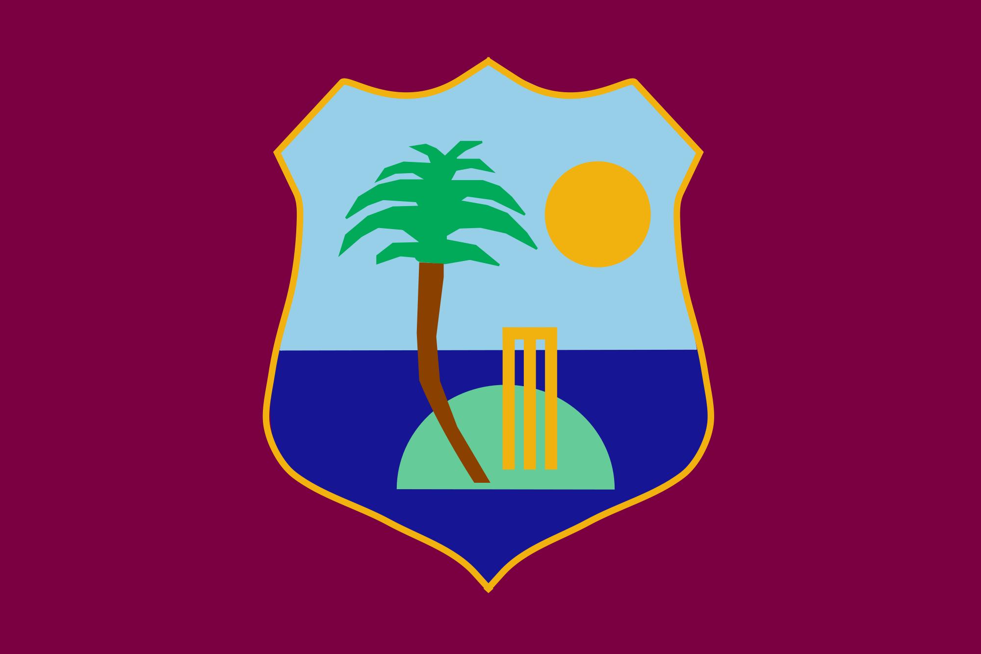 West Indies Cricket Team Teams Background 5
