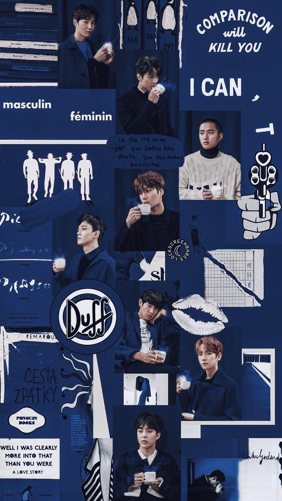 aesthetic exo wallpapers