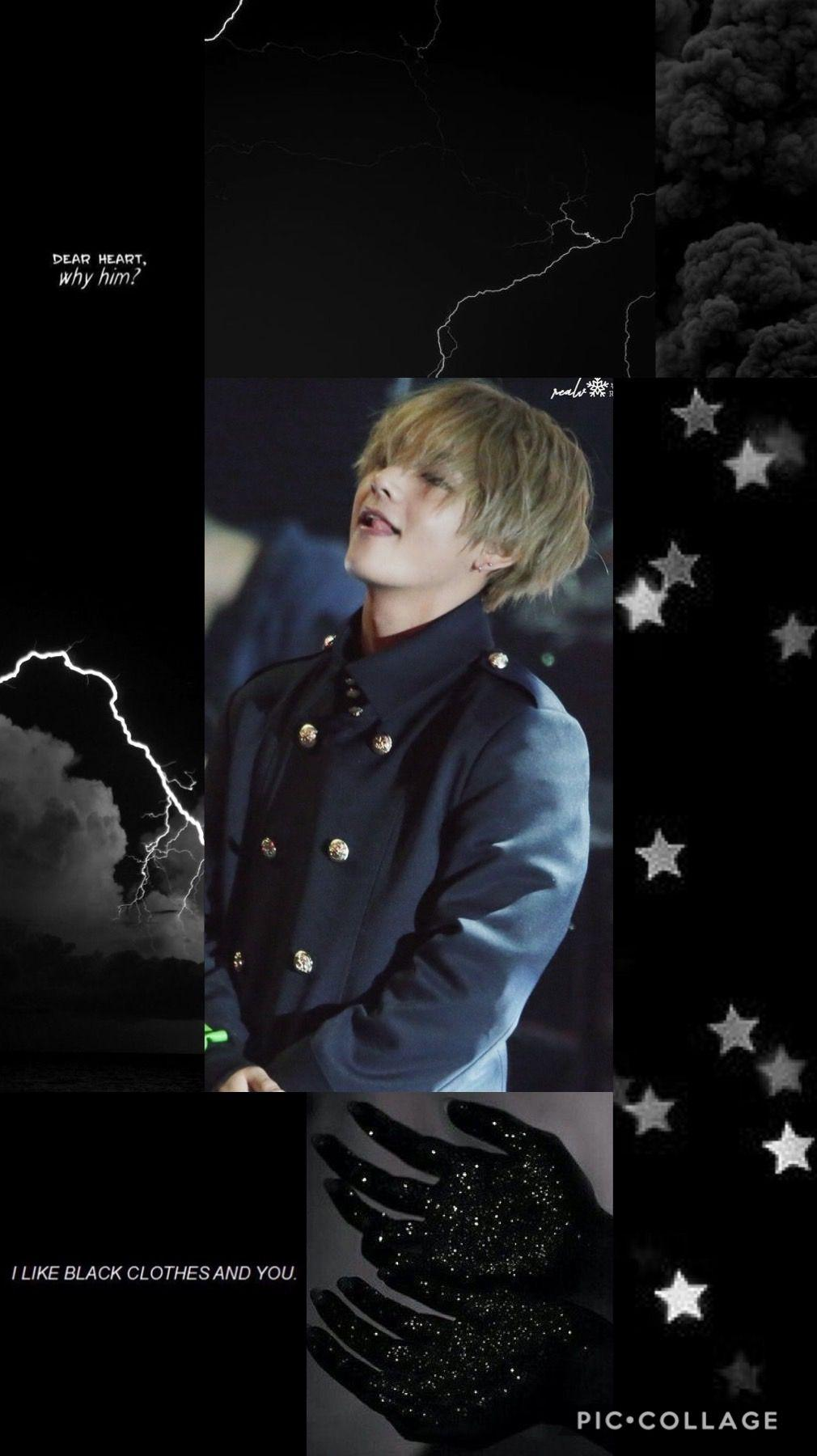 Taehyung Aesthetic Dark Wallpapers Wallpaper Cave