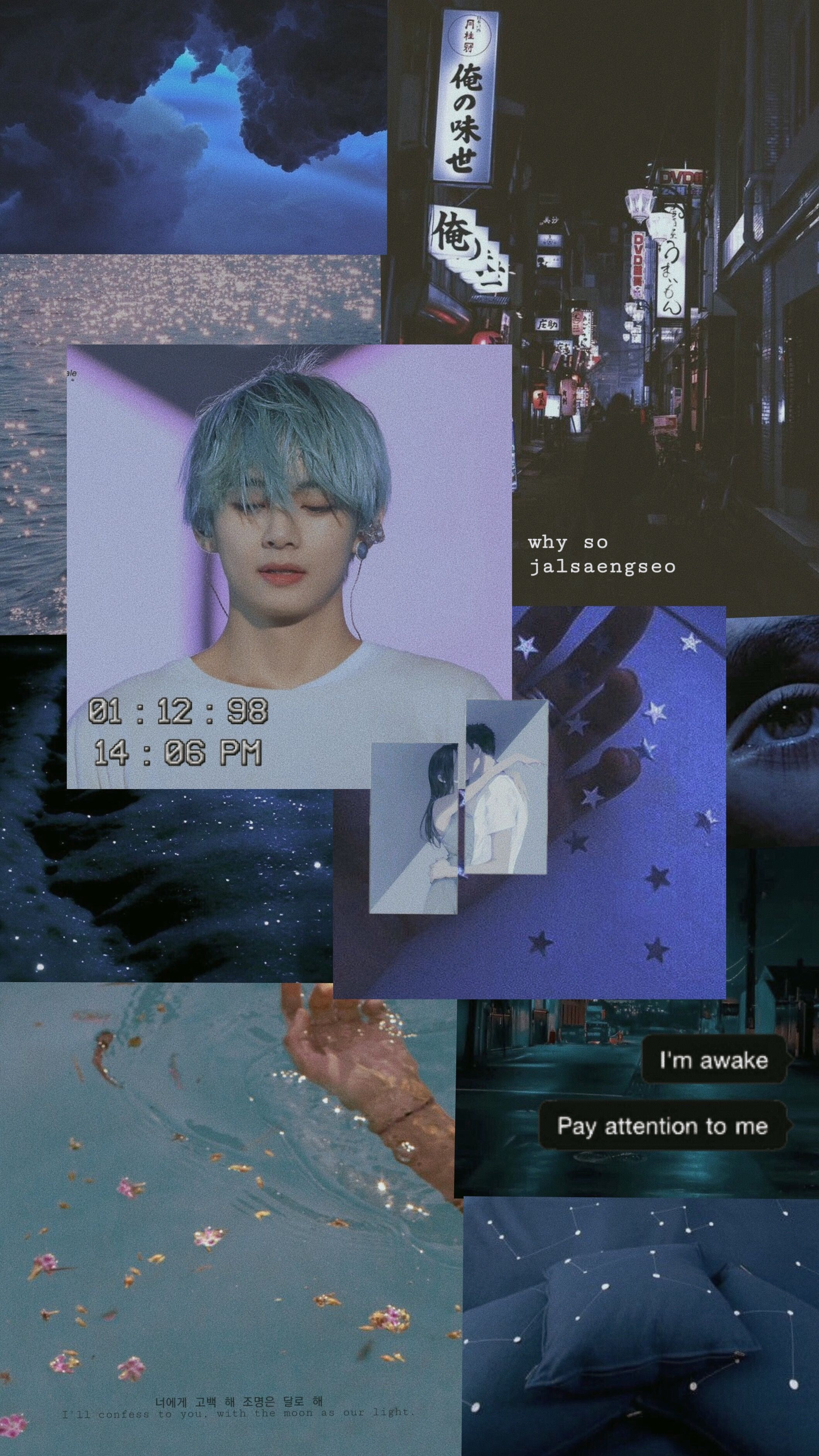 Kim Taehyung Aesthetic Wallpapers Wallpaper Cave