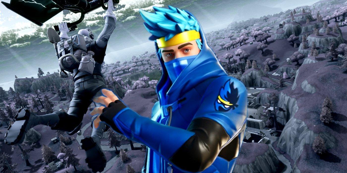 Ninja Skin Fortnite Wallpapers Wallpaper Cave
