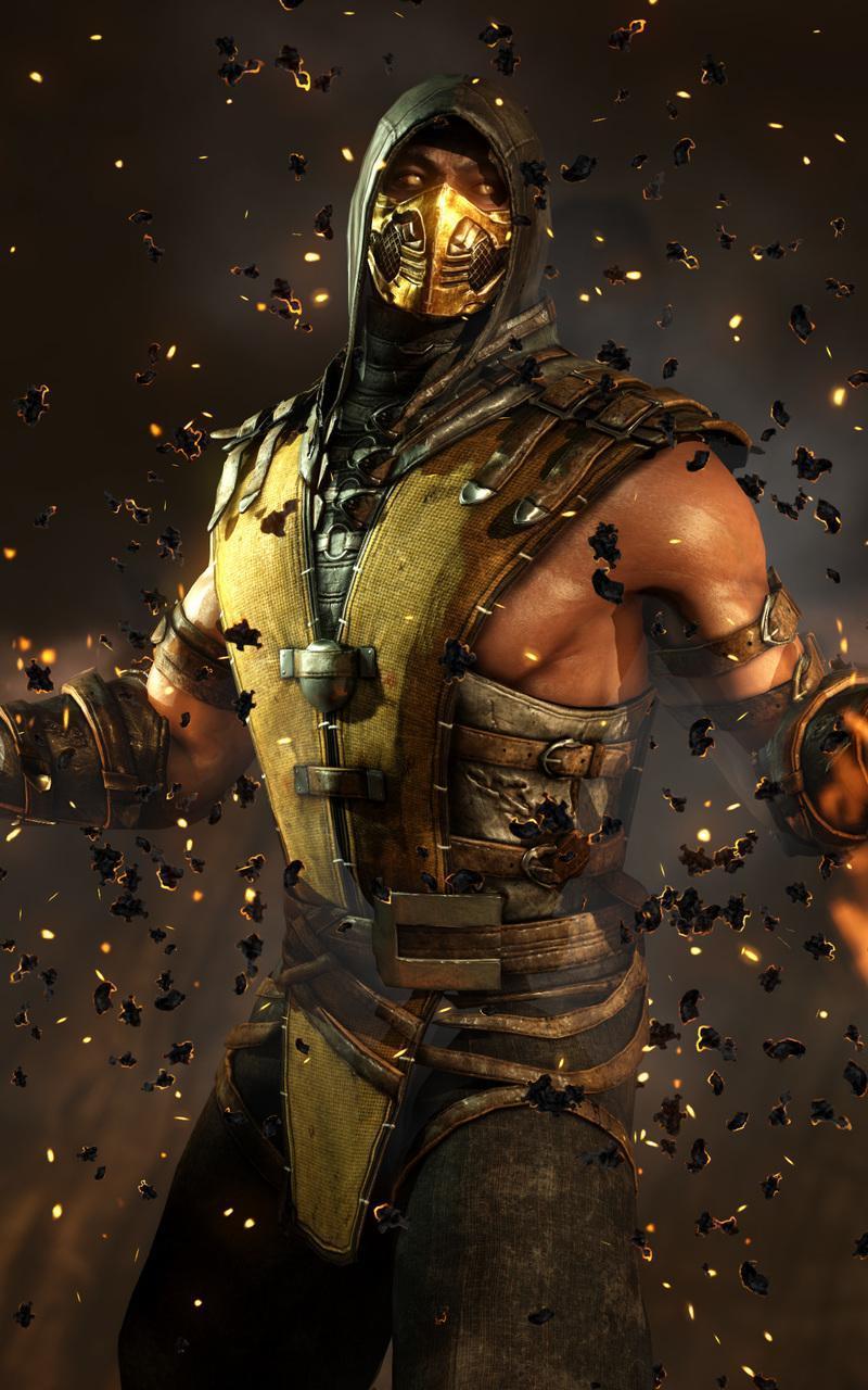 Mortal Kombat X Hd Android Phone Wallpapers Wallpaper Cave