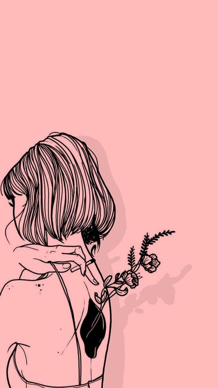 Sad Girl Tumblr Draw Wallpapers - Wallpaper Cave