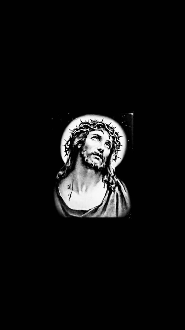 Jesus Black And White Android Wallpapers Wallpaper Cave