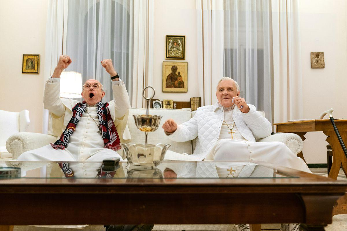 Netflix's The Two Popes review: Hopkins and Pryce overcome