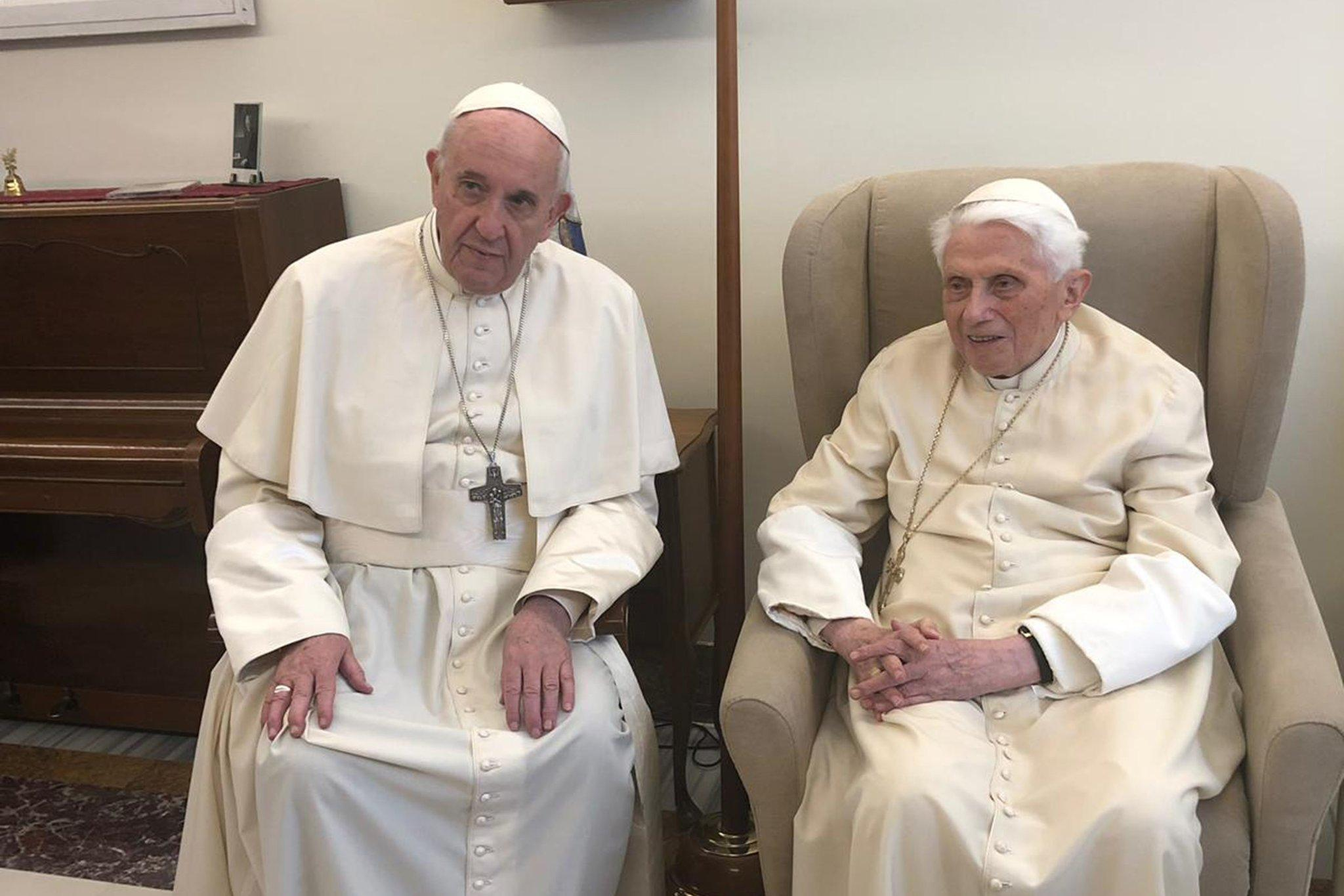 Dueling Popes? Maybe. Dueling Views in a Divided Church