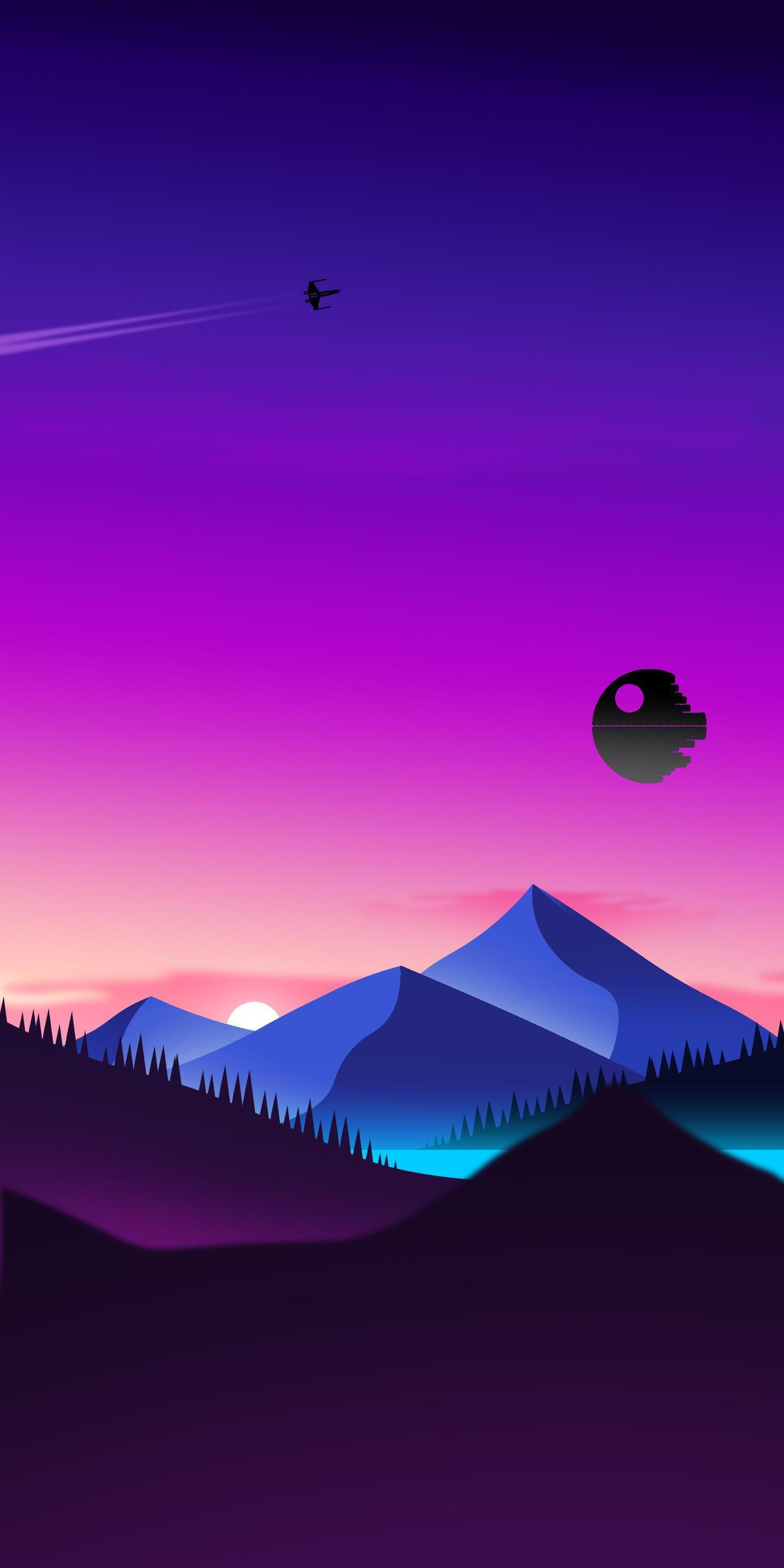 Star Wars Minimalist Wallpapers Wallpaper Cave