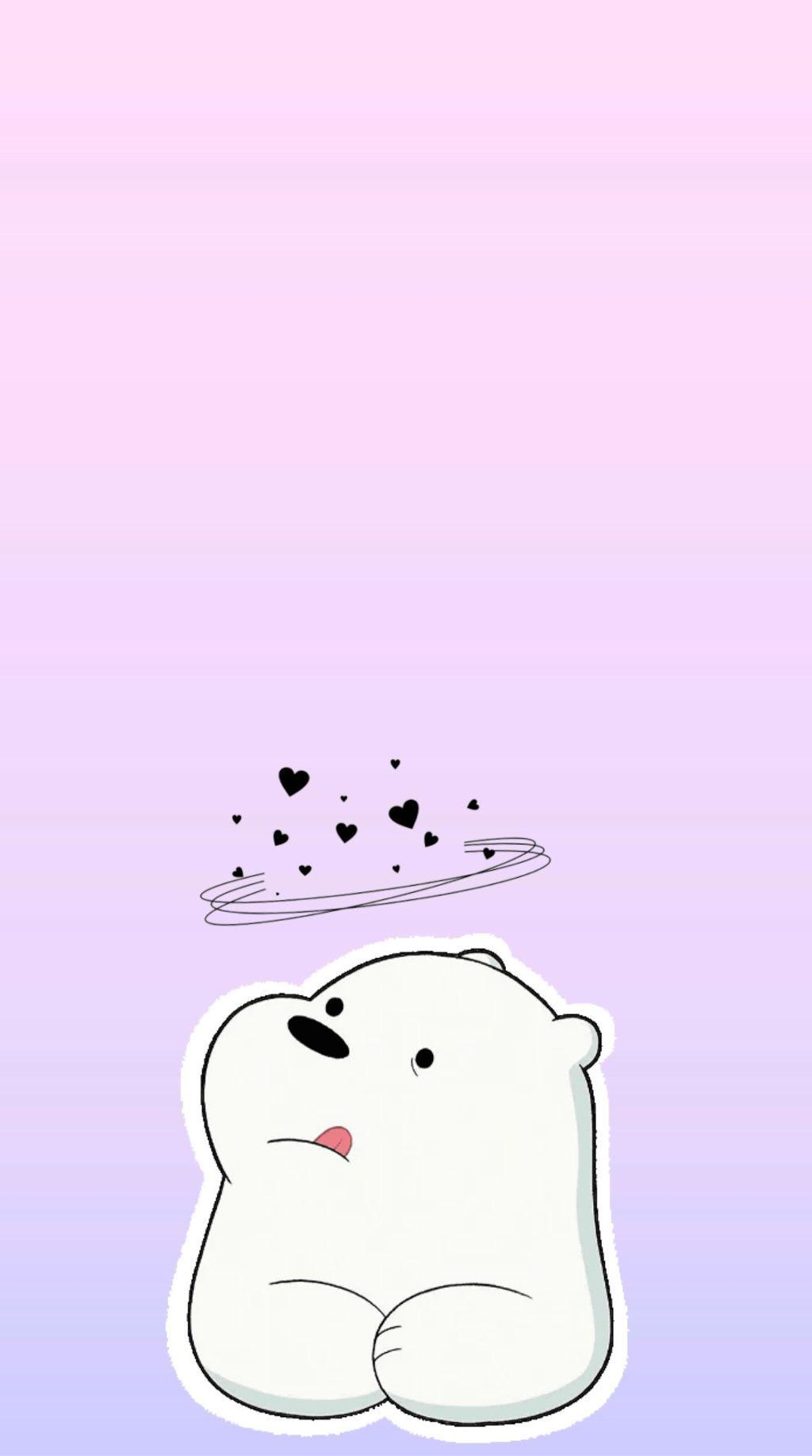 We Bare Bears Ice Bear Iphone Hd Wallpapers Wallpaper Cave