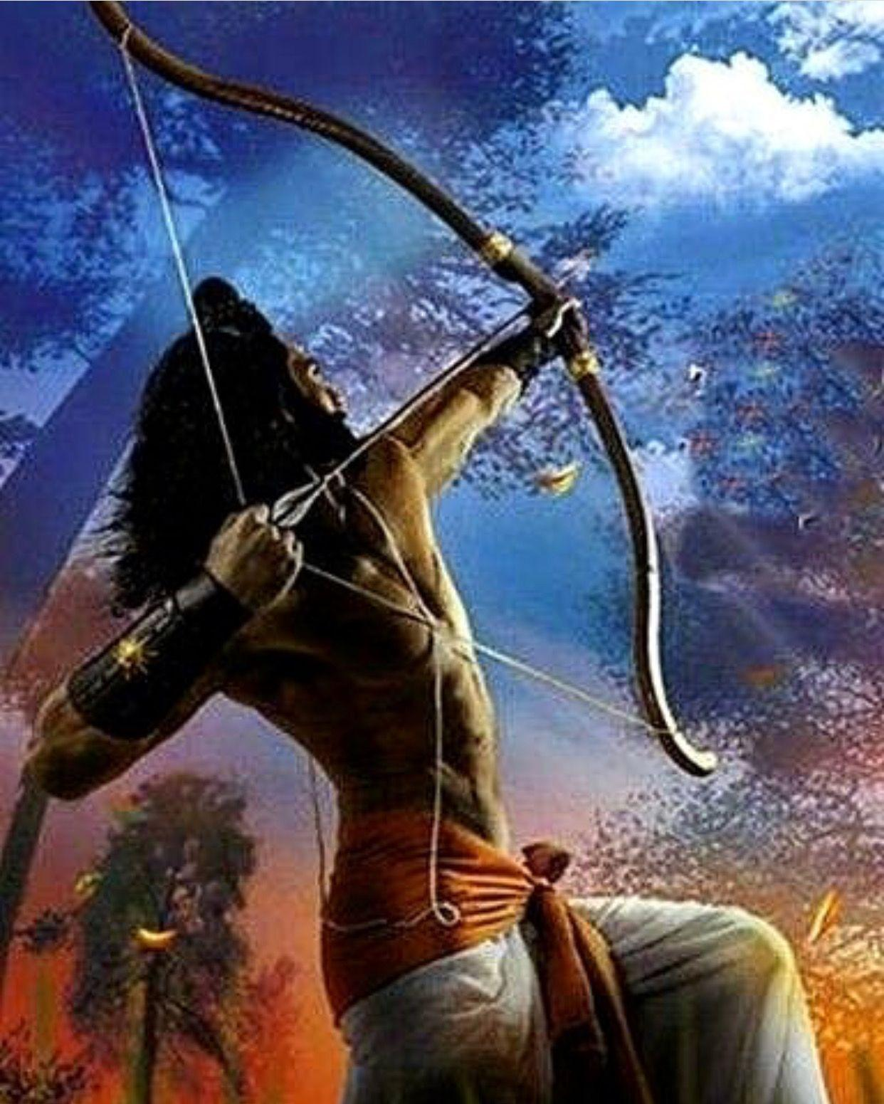 Lord Rama Bow And Arrow Hd Wallpapers