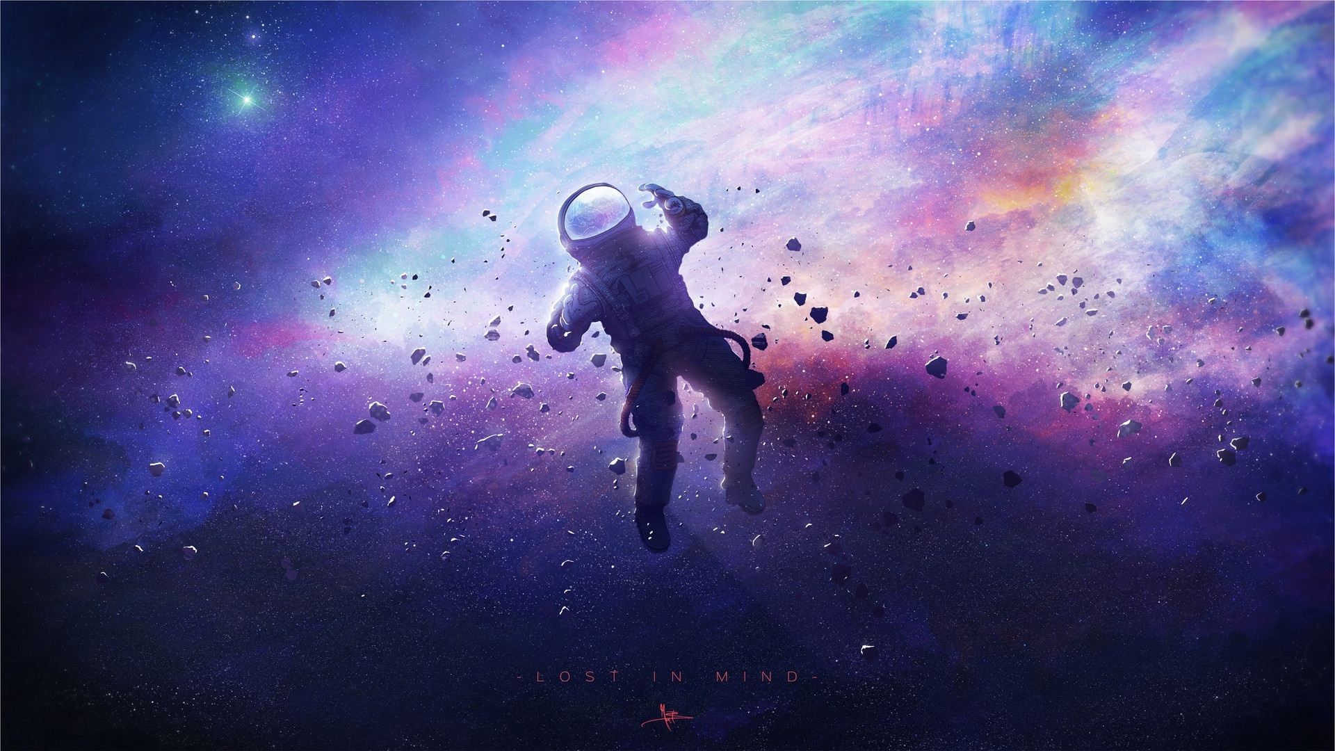 Lost Astronaut Wallpapers Wallpaper Cave