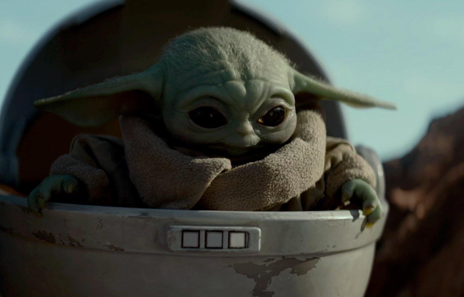 Baby Yoda Soup Wallpapers Wallpaper Cave