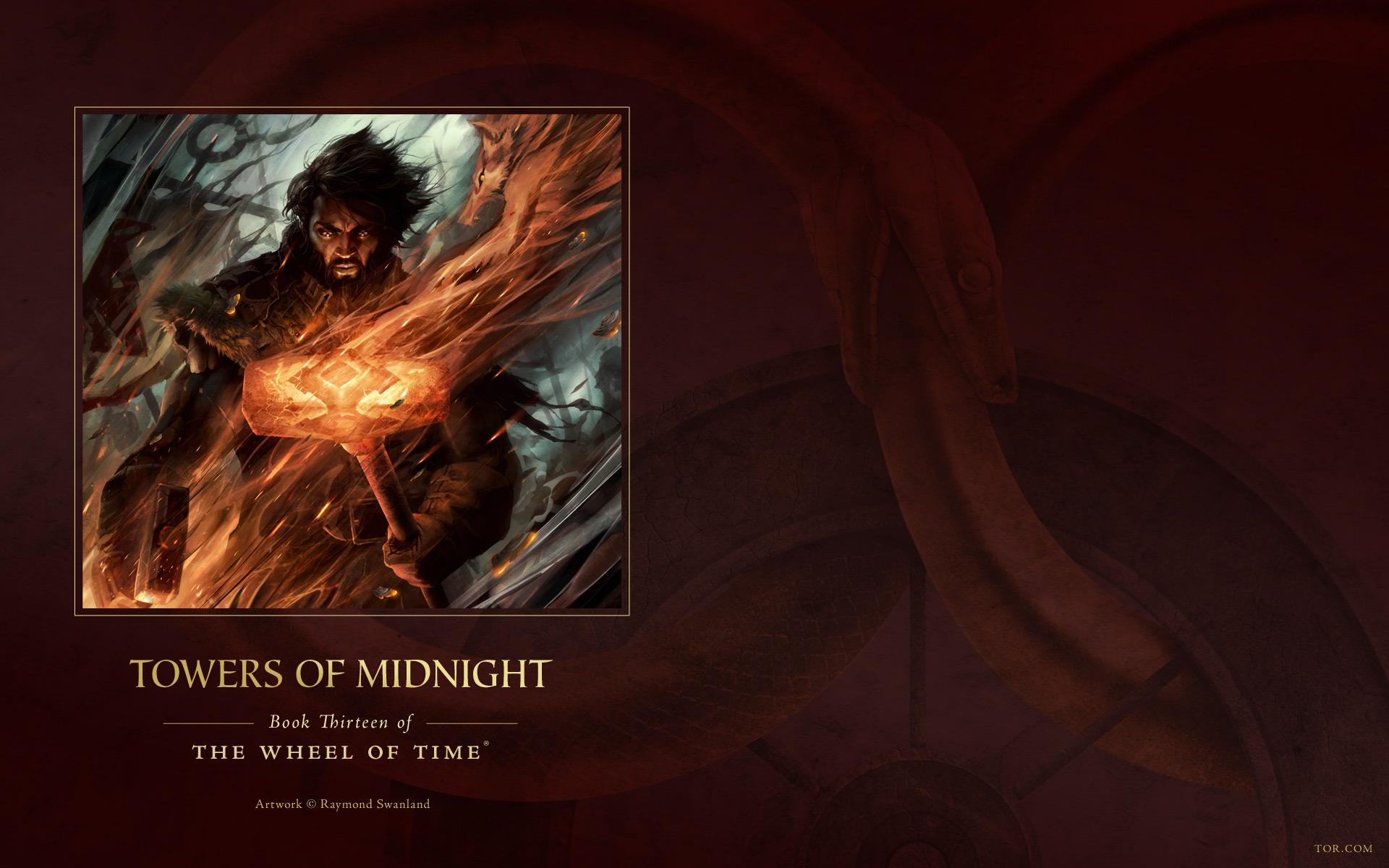 Download Free Wallpapers of Towers of Midnight Ebook Cover