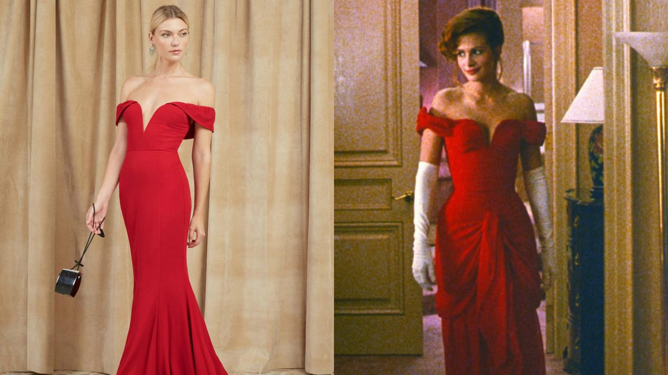 You can now own the red Pretty Woman dress