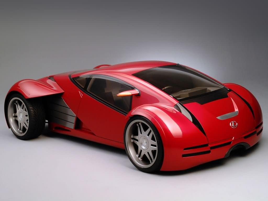Wallpapers and pictures: Lexus minority report sports car
