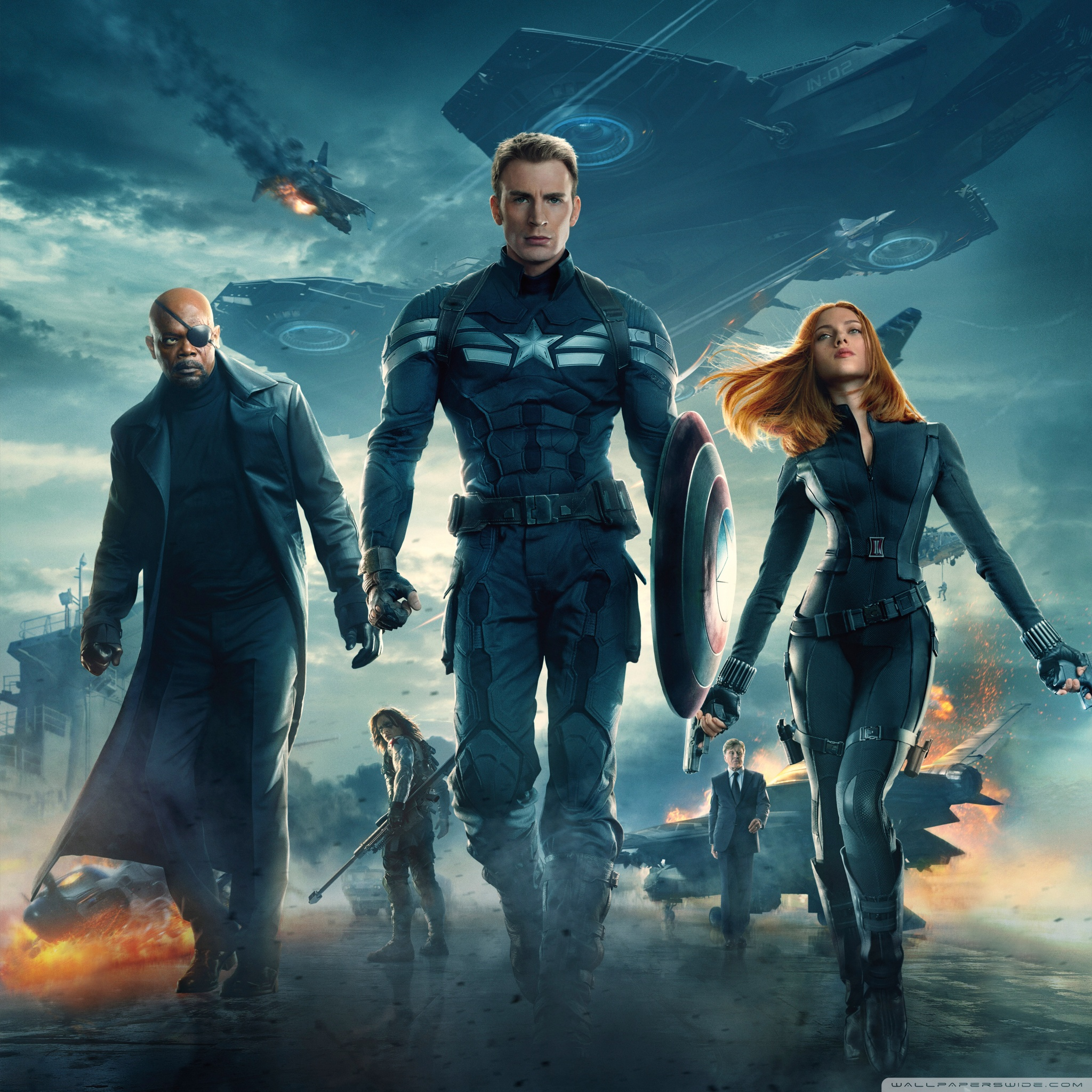 Captain America The Winter Soldier Movie Wallpapers Wallpaper Cave