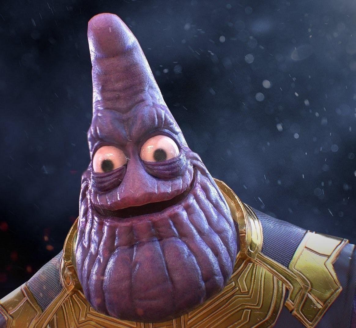 Thanos Meme Wallpapers Wallpaper Cave