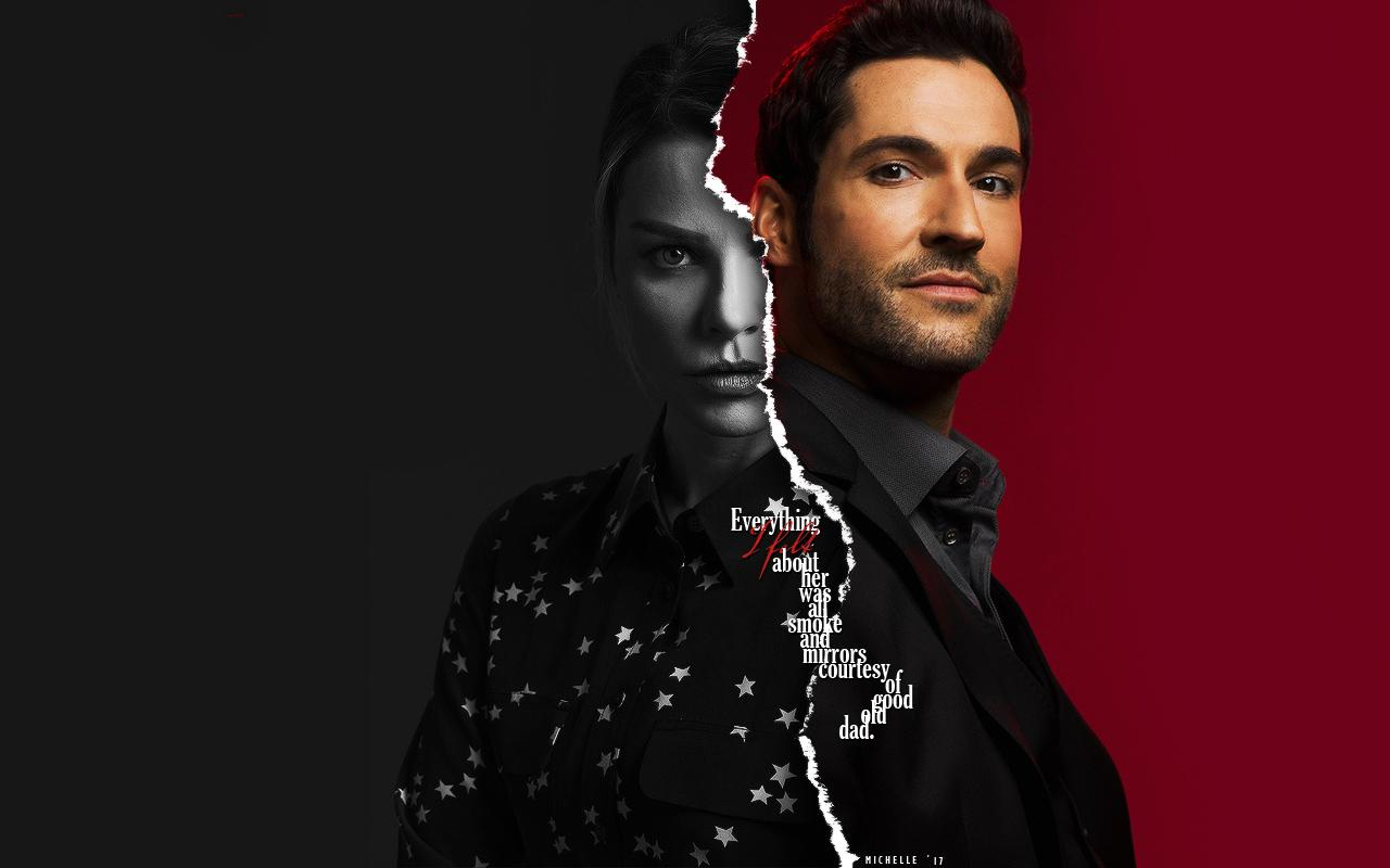 Lucifer And Chloe Wallpapers Wallpaper Cave