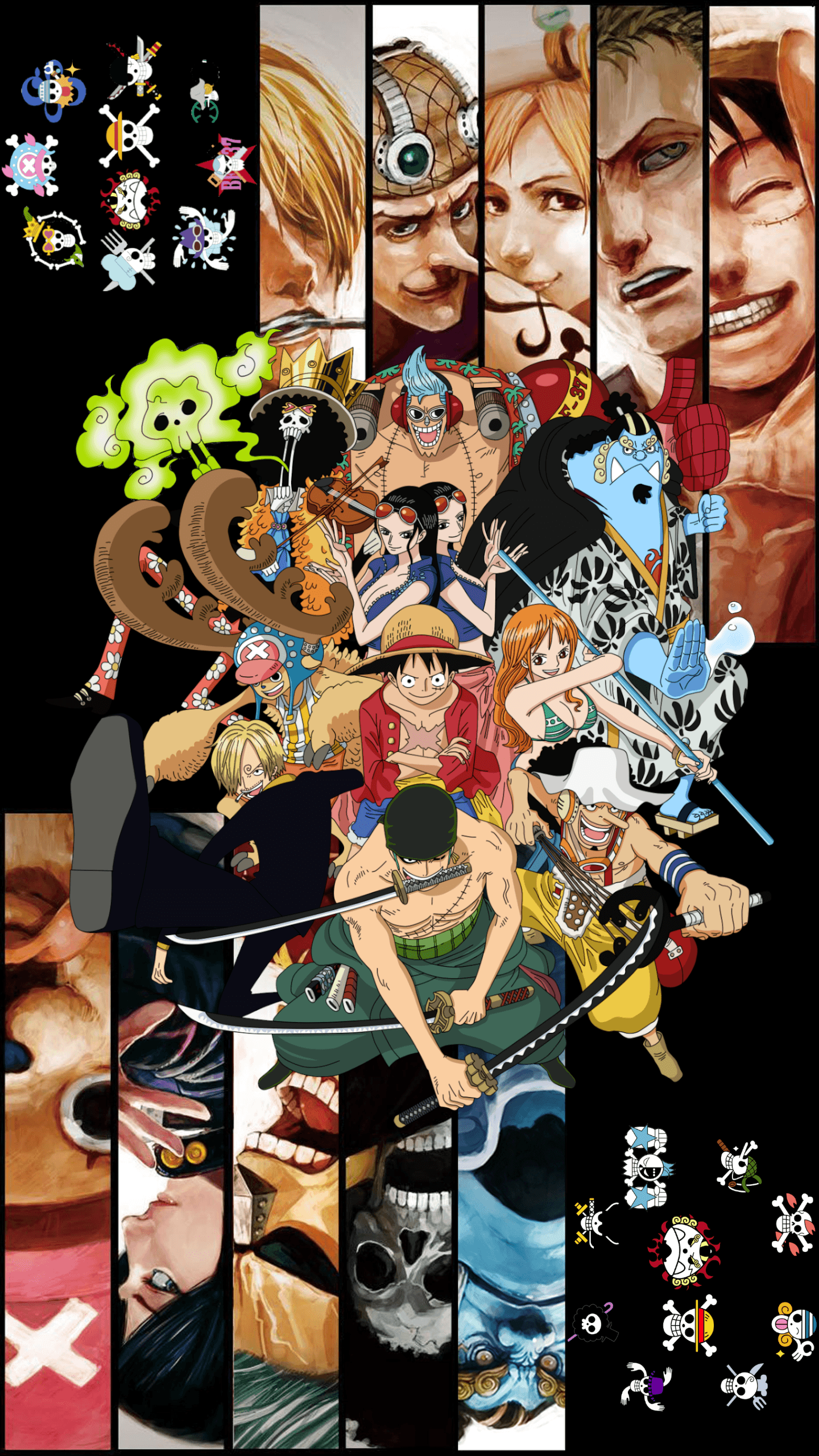 One Piece Hd 4k Iphone Wallpapers Wallpaper Cave