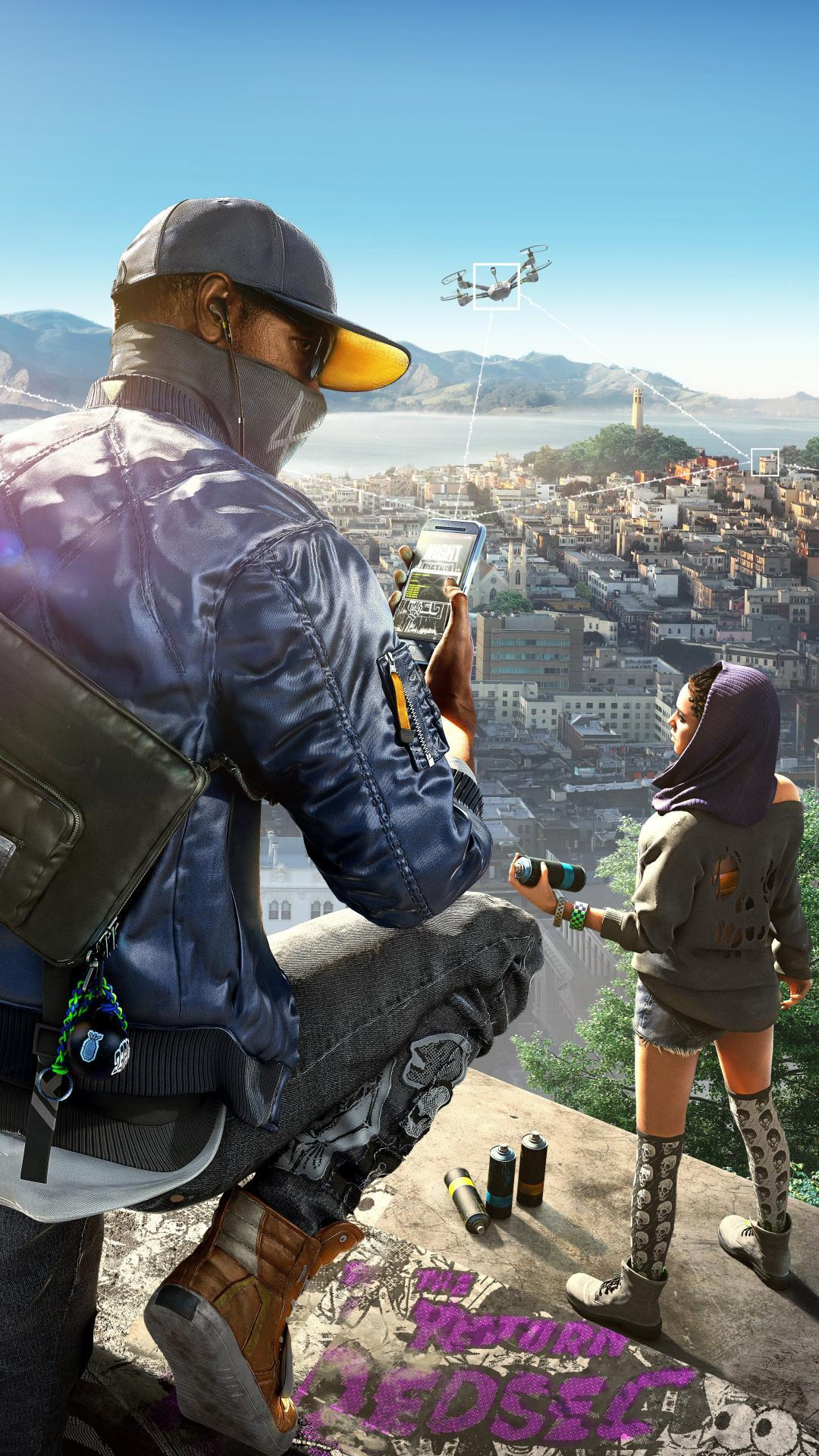 Watch Dogs 2 Hd Android Wallpapers Wallpaper Cave