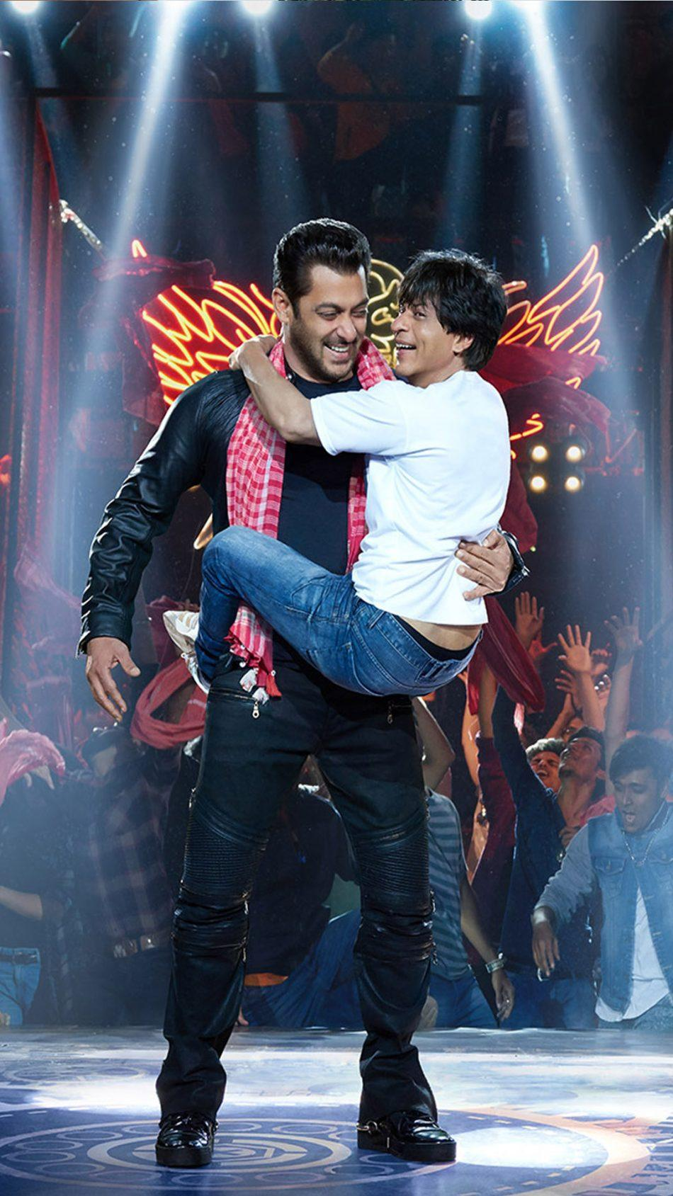 Salman And Shahrukh In Zero Hd Mobile Wallpapers