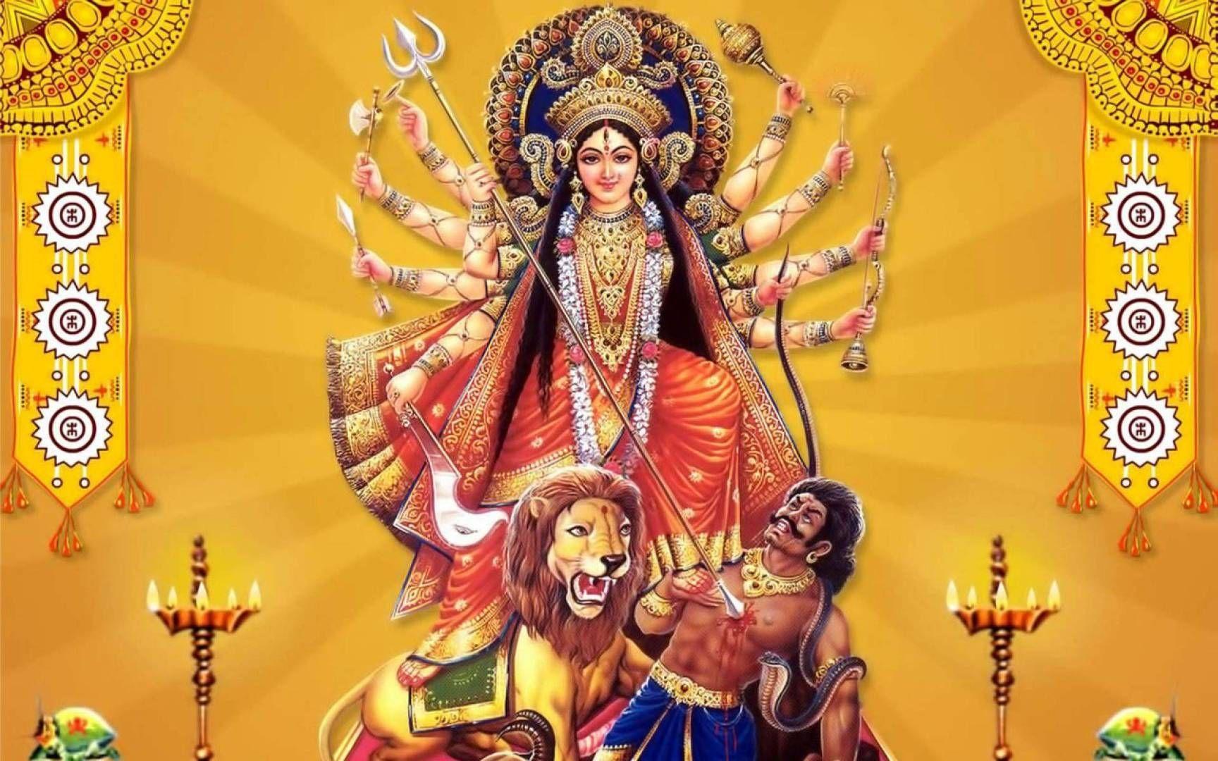 Durga Maa Wallpapers Wallpaper Cave
