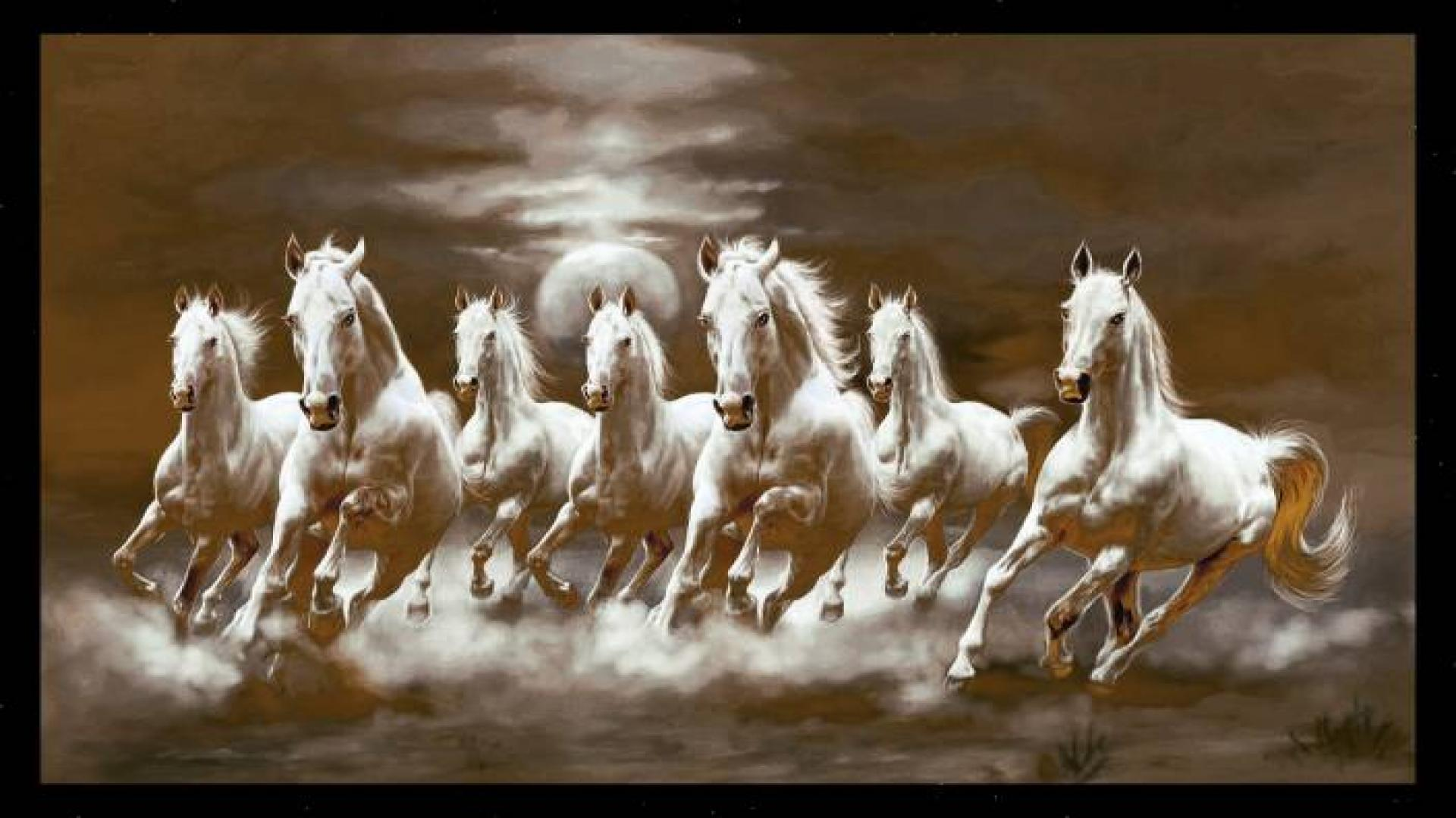 7horse Running Wallpapers Wallpaper Cave