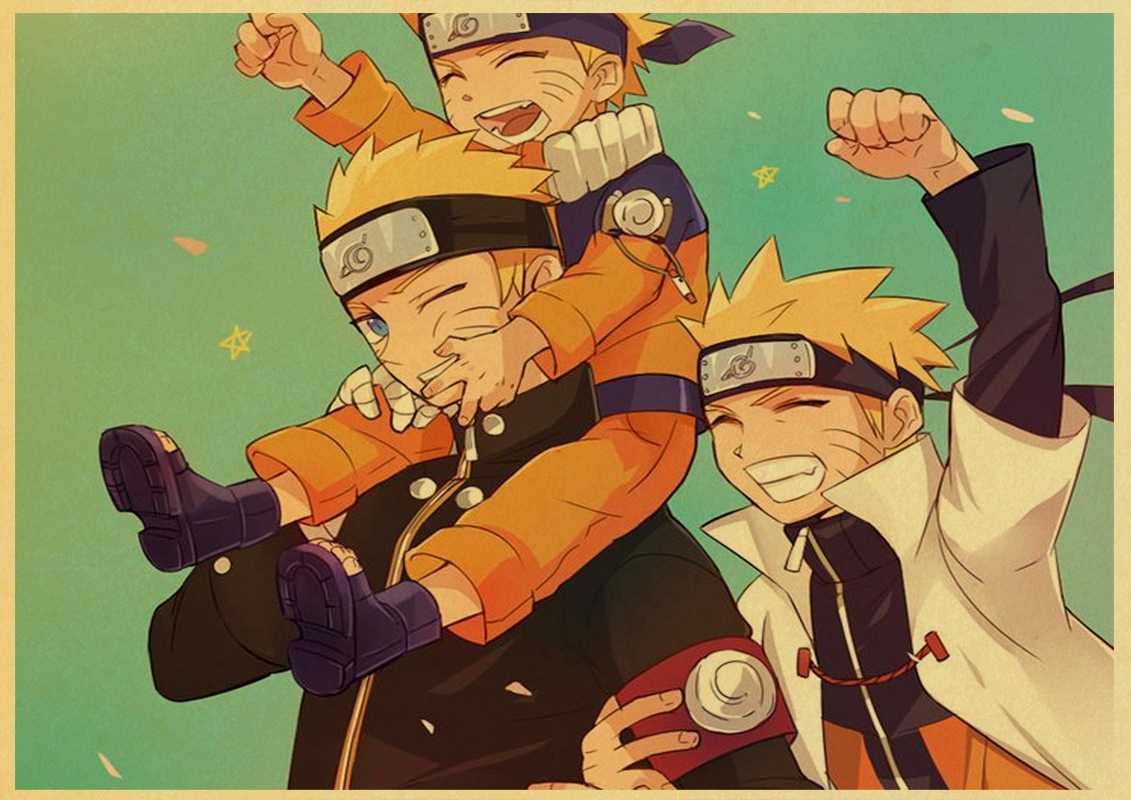 Naruto Retro Wallpapers Wallpaper Cave