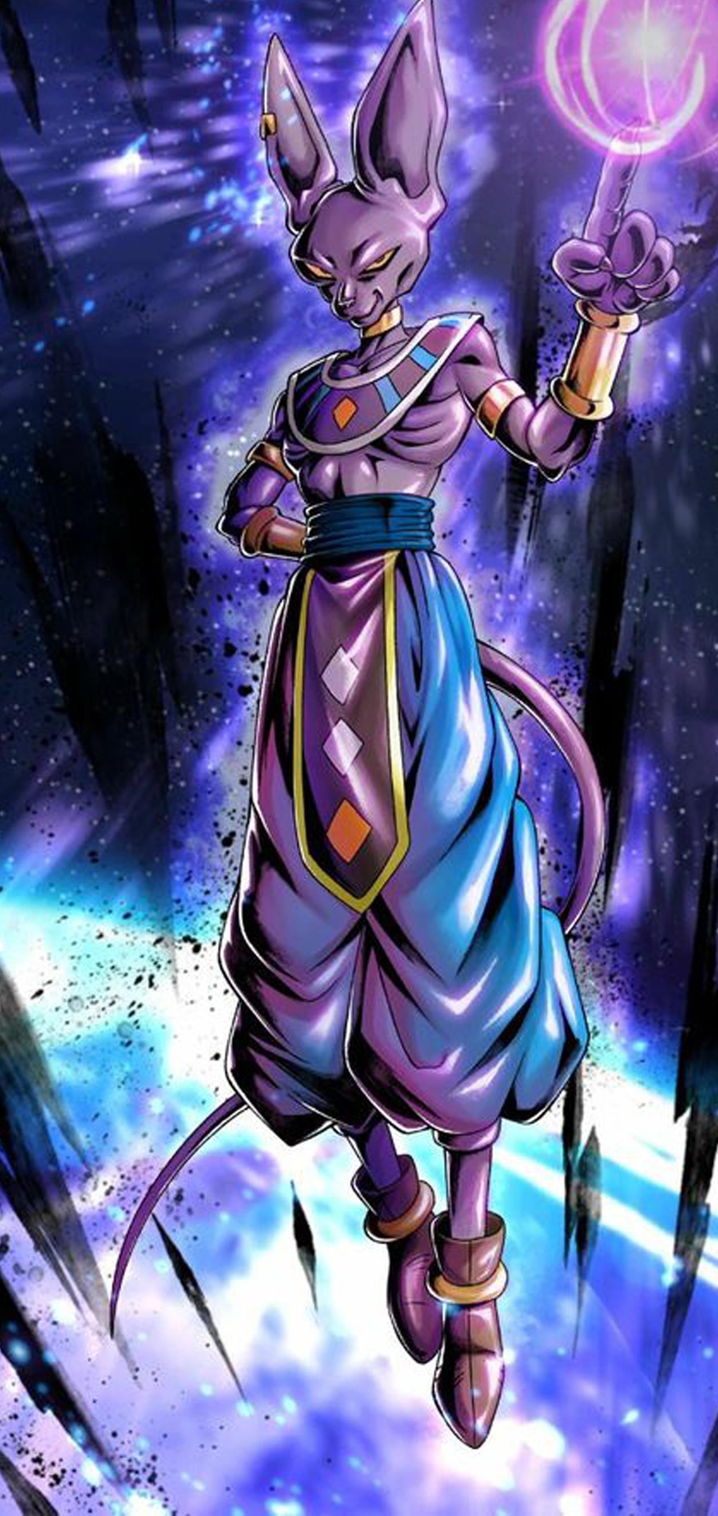 Beerus Anime Wallpapers Wallpaper Cave