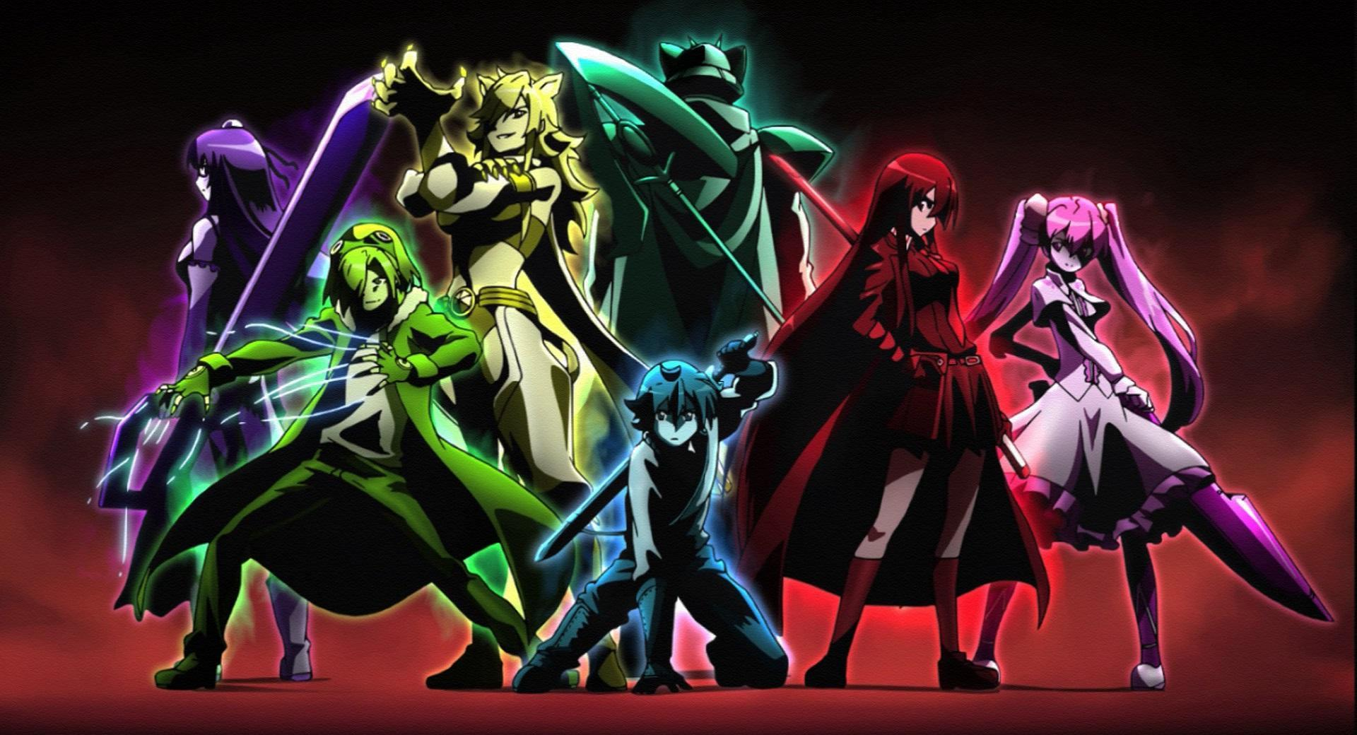 Akame Ga Kill Desktop Wallpapers Wallpaper Cave