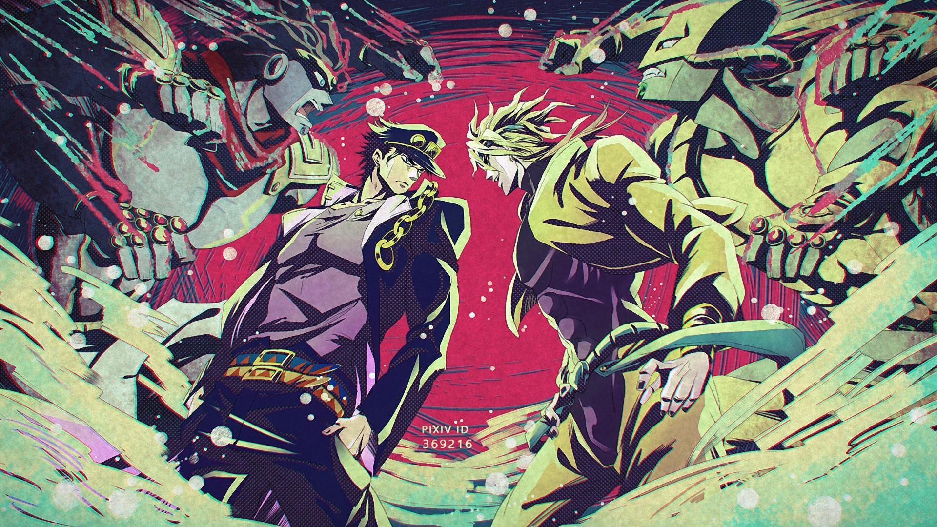 Jotaro Vs Dio Wallpapers Wallpaper Cave